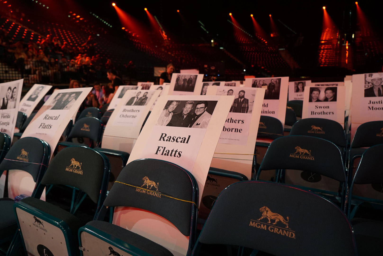 Rascal Flatts has a great spot saved for this year's ACM Awards.