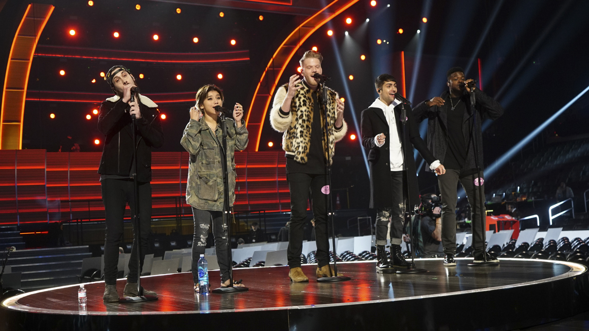 Venture backstage and take a glimpse at all the 2017 GRAMMY Awards rehearsal action.