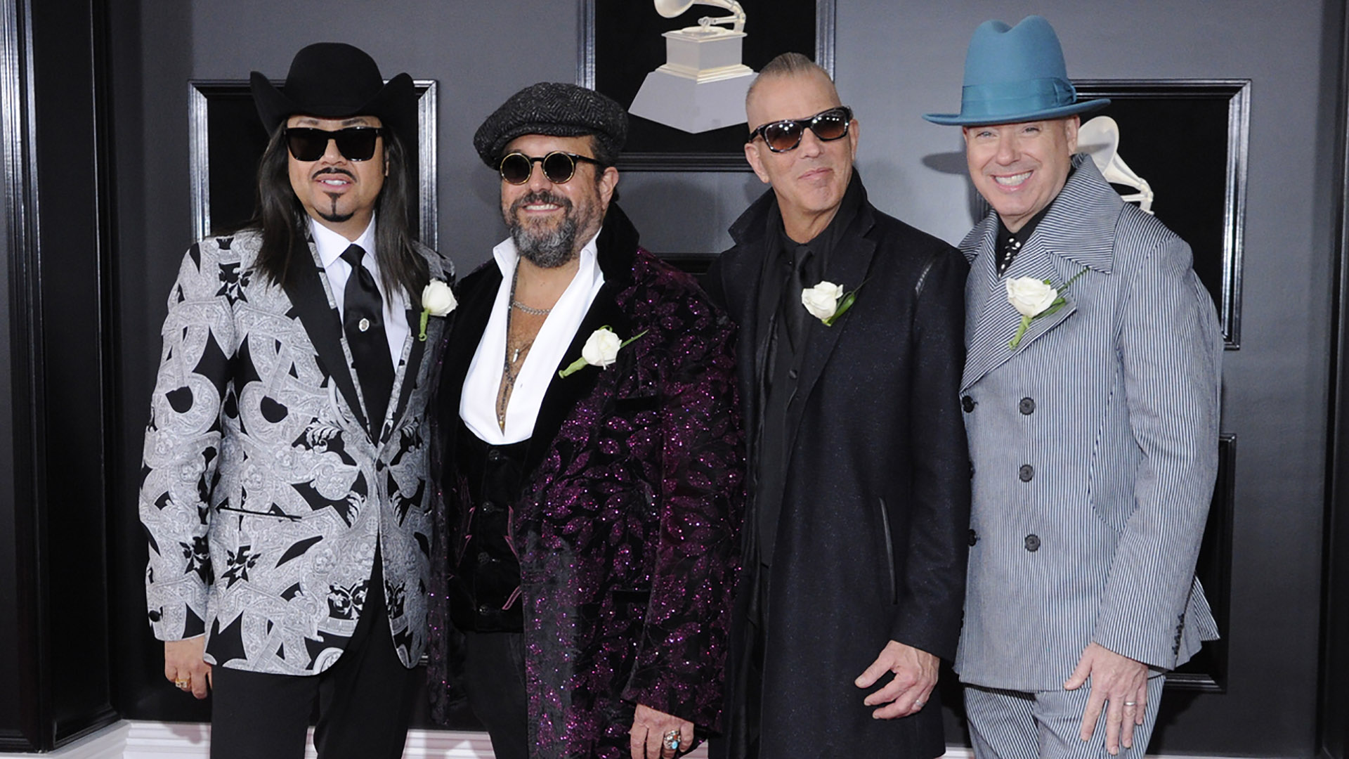 The Mavericks push the boundaries of country music—and red carpet fashion—at the 60th Annual GRAMMY Awards.