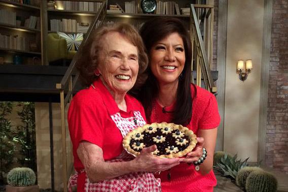 25. Blueberry Pie - Chef Marjorie Johnson