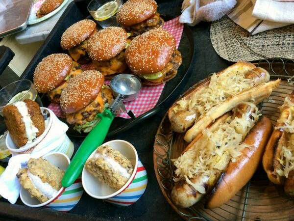15. Burgers and Bratwursts - Chef Ben Ford