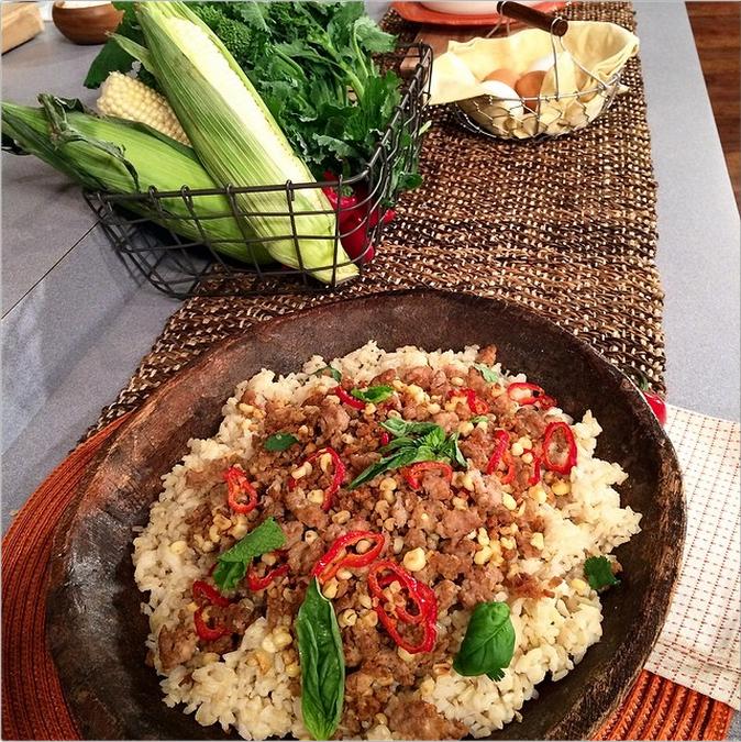 2. Rice & Pork Bowl - Chef David Meyers