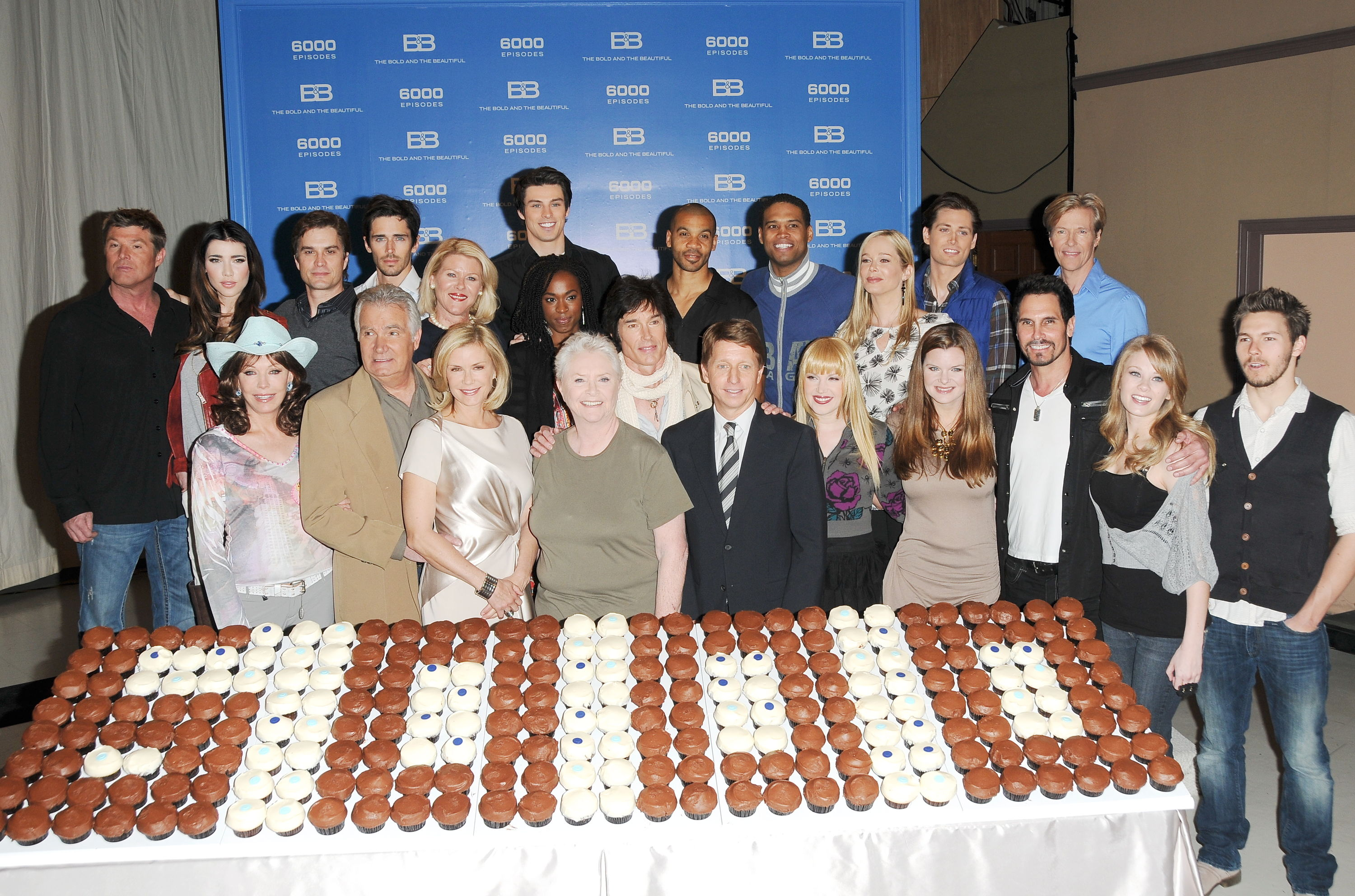 What a treat: Cupcakes deliciously celebrate 6,000 episodes.
