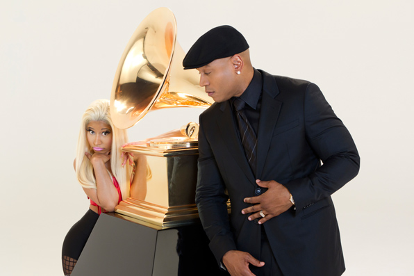 Nicki Minaj and LL Cool J