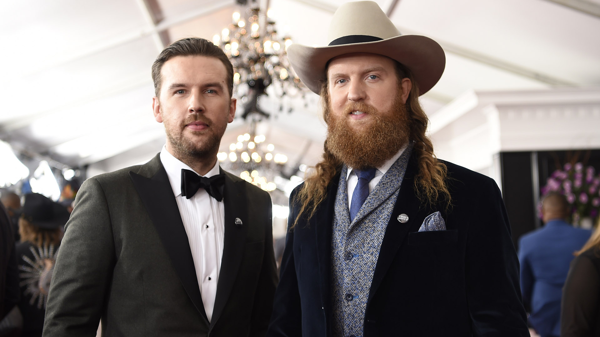 Looking handsome for the cameras definitely runs in the family for country rockers Brothers Osborne.