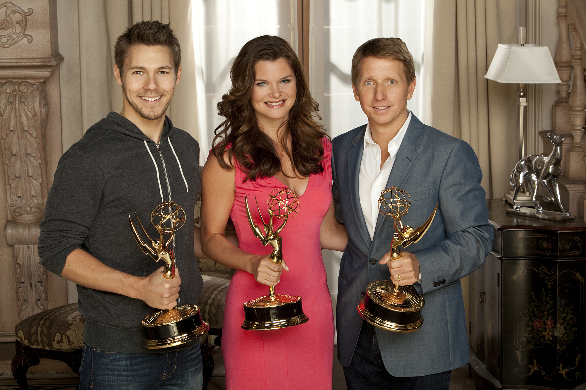 Scott Clifton, Heather Tom, Brad Bell