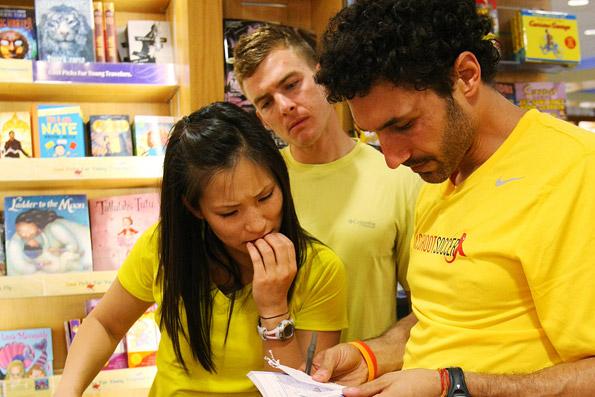 Cindy, Ernie and Ethan