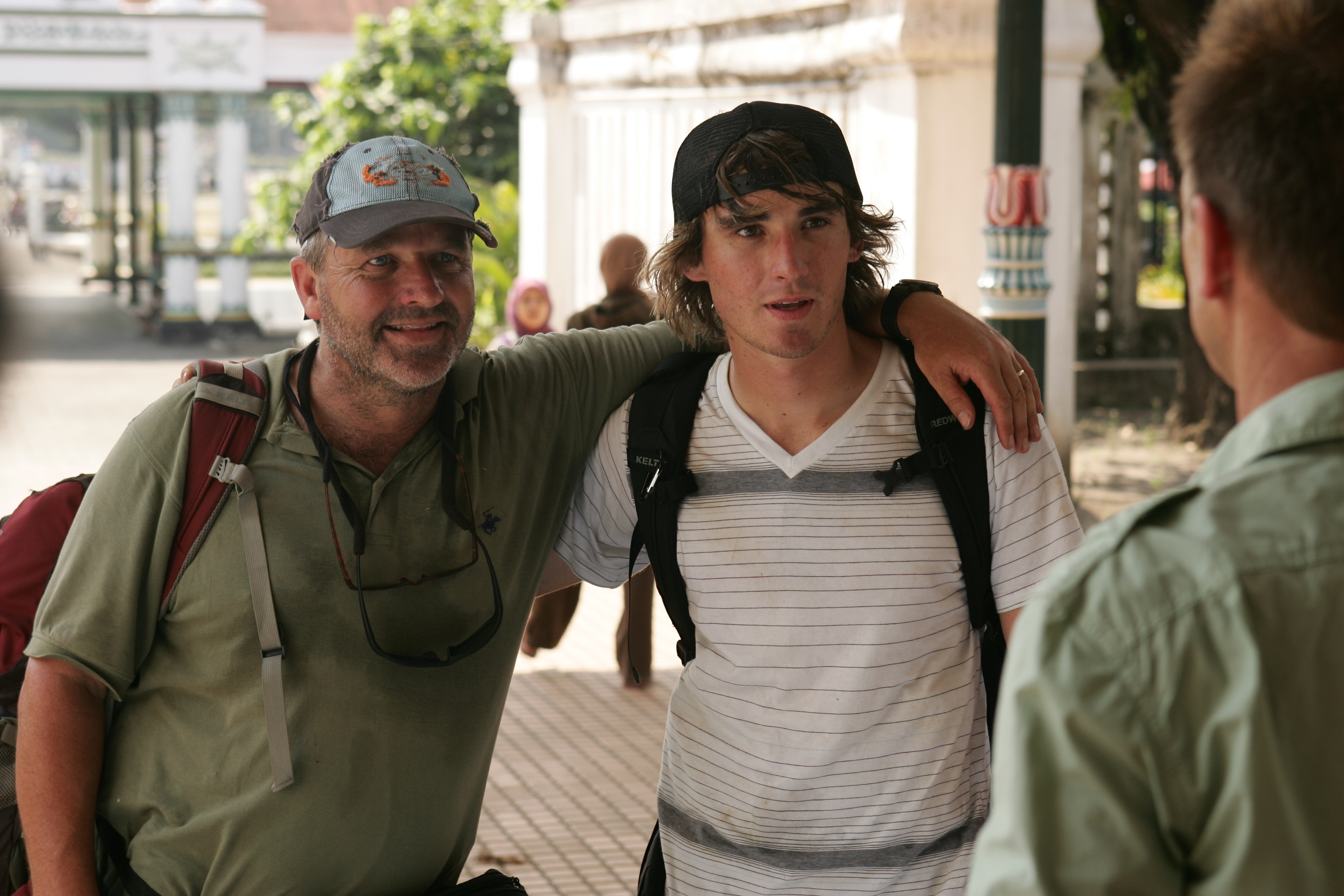 Laurence and Zac