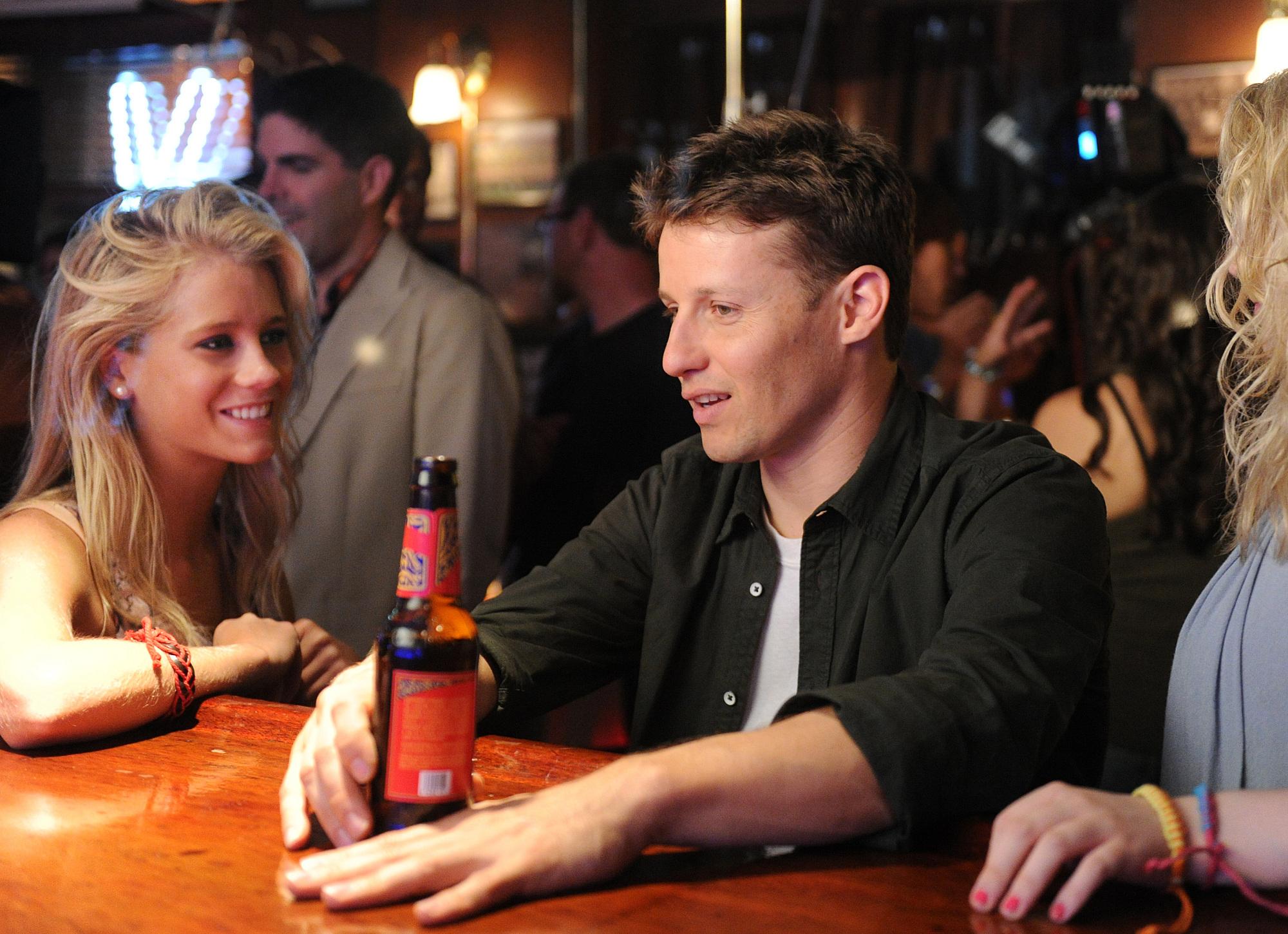 Jamie at the bar