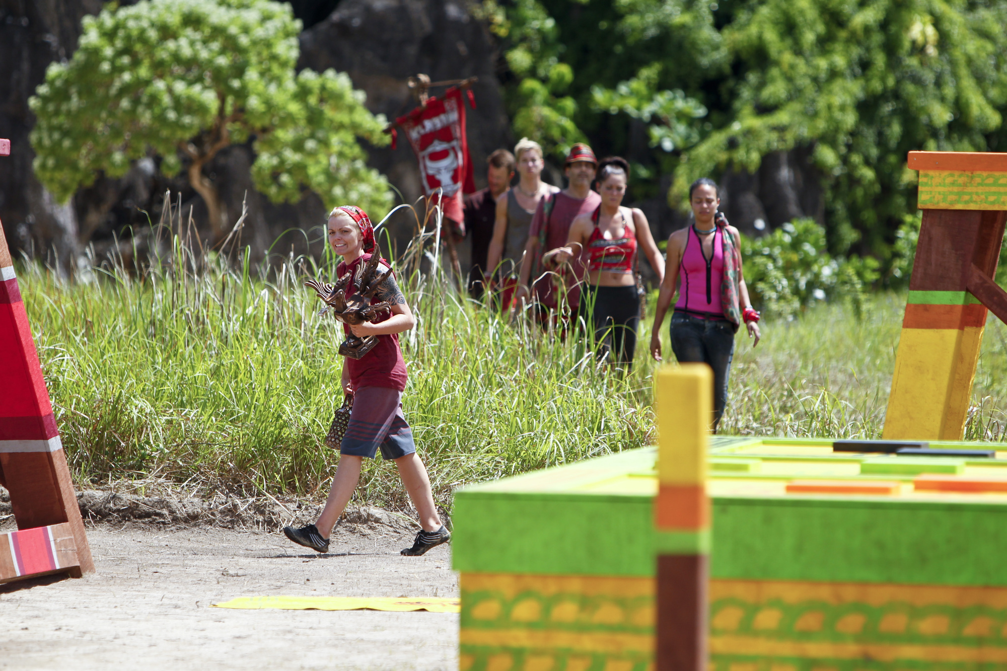 Going to the Immunity Challenge