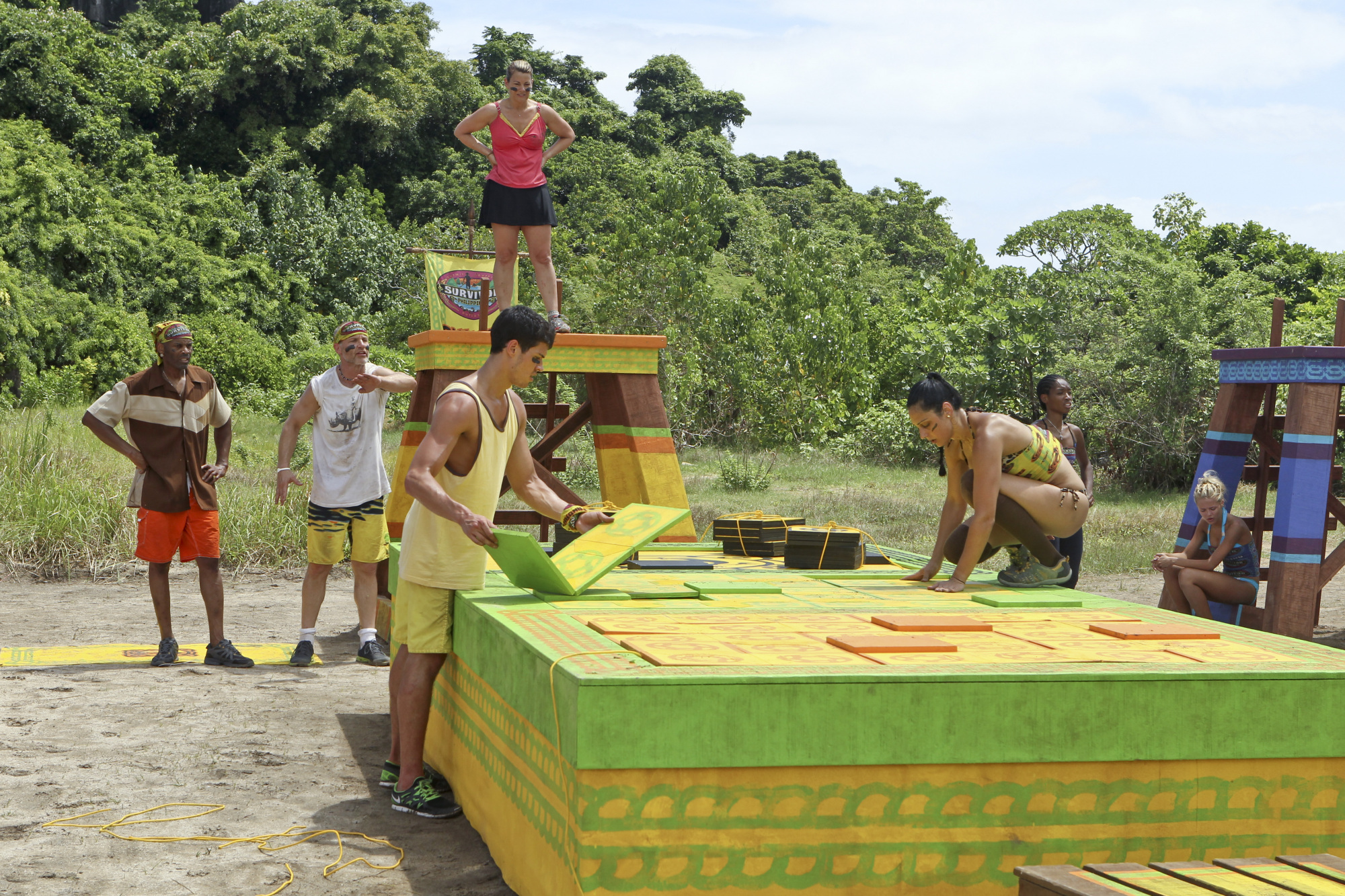 The Tandang Tribe Competes