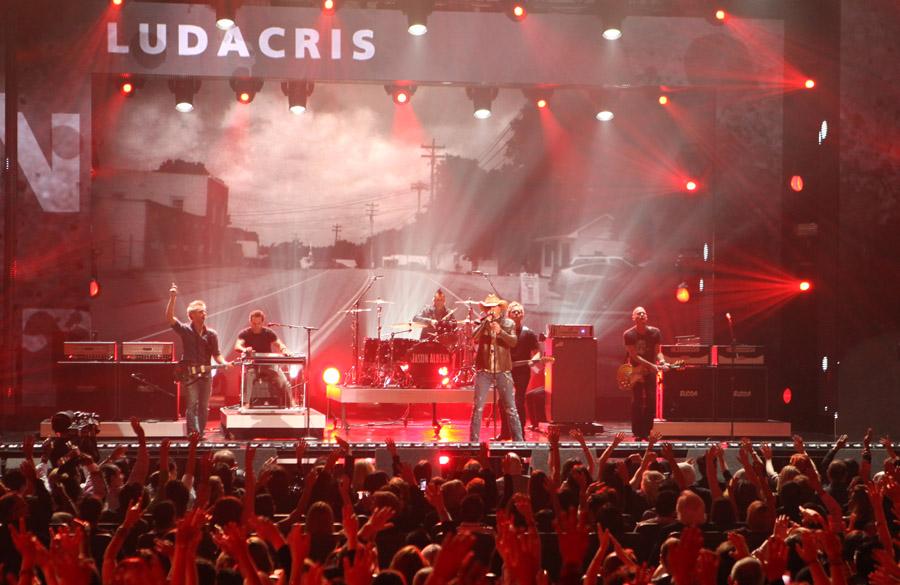 Jason Aldean and Ludacris