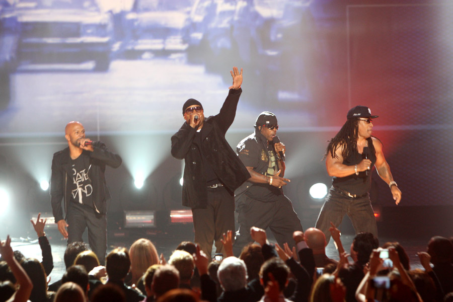 Common, LL Cool J, Scorpio and Melle Mel