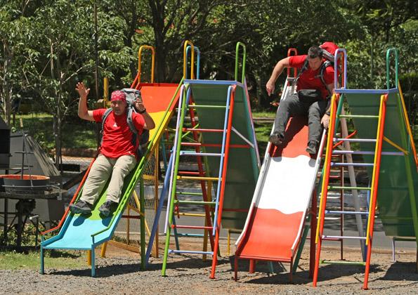Art & JJ On Slides