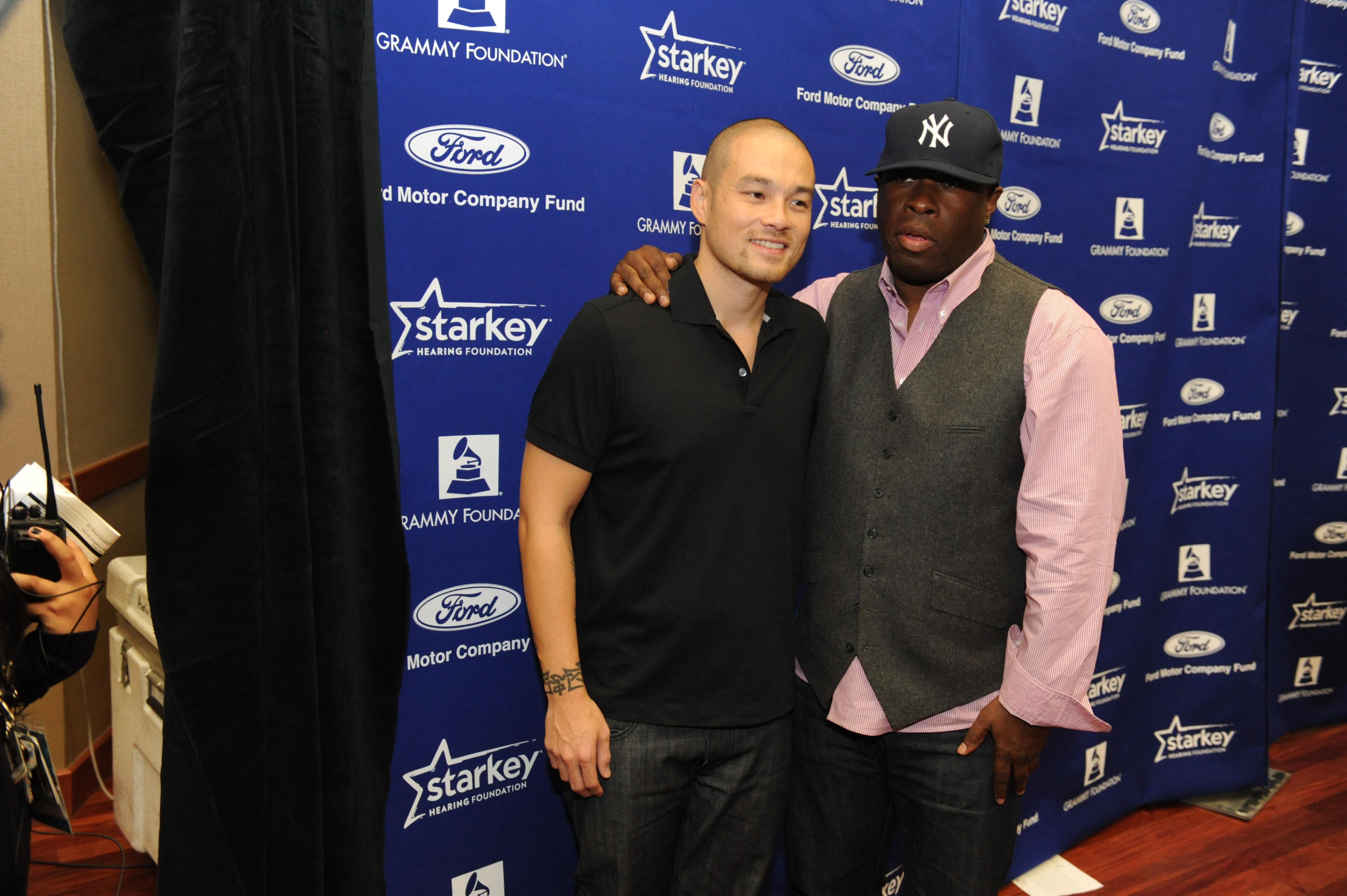 DJ Hapa and Vince Wilburn