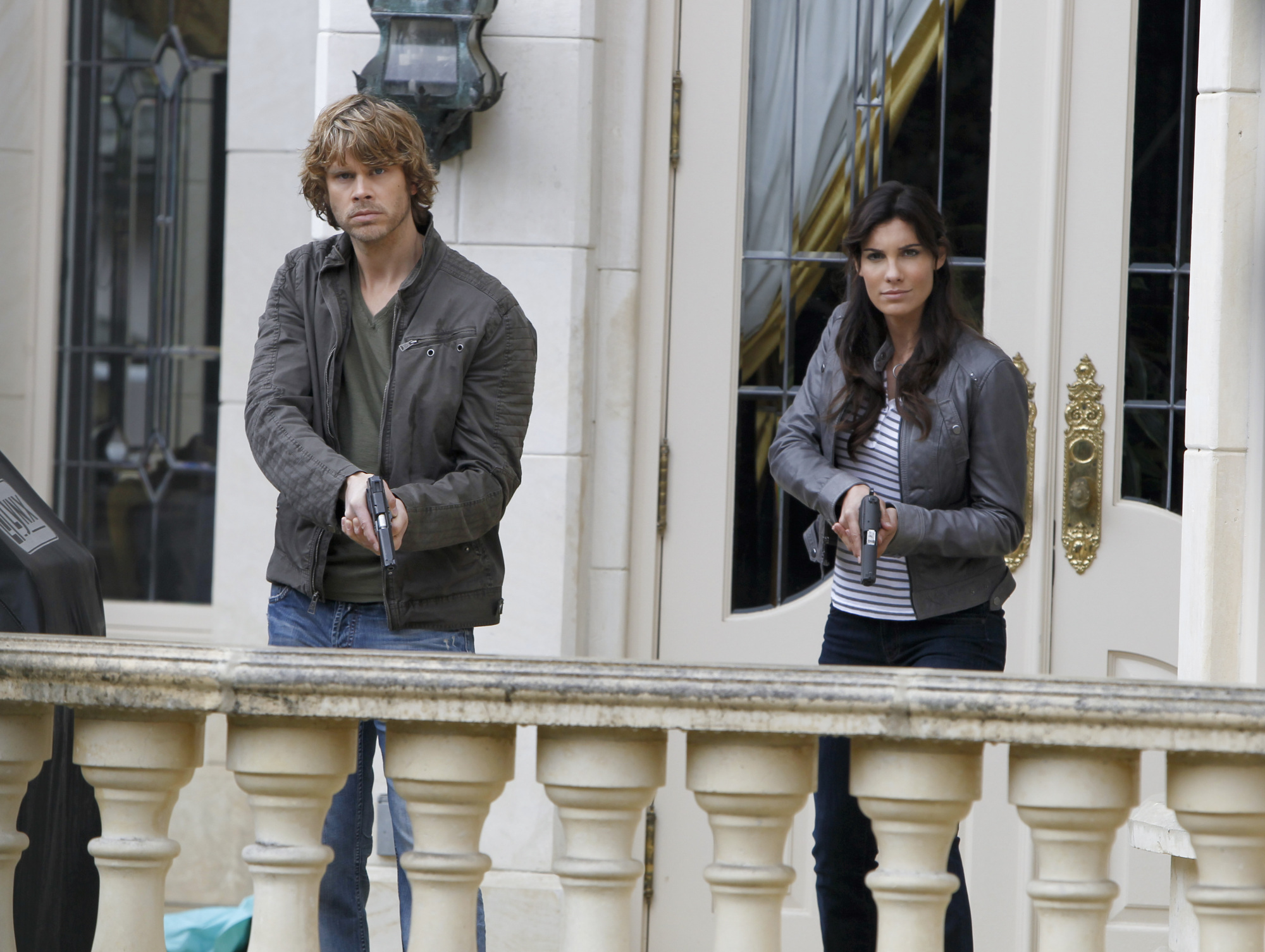 Marty and Kensi