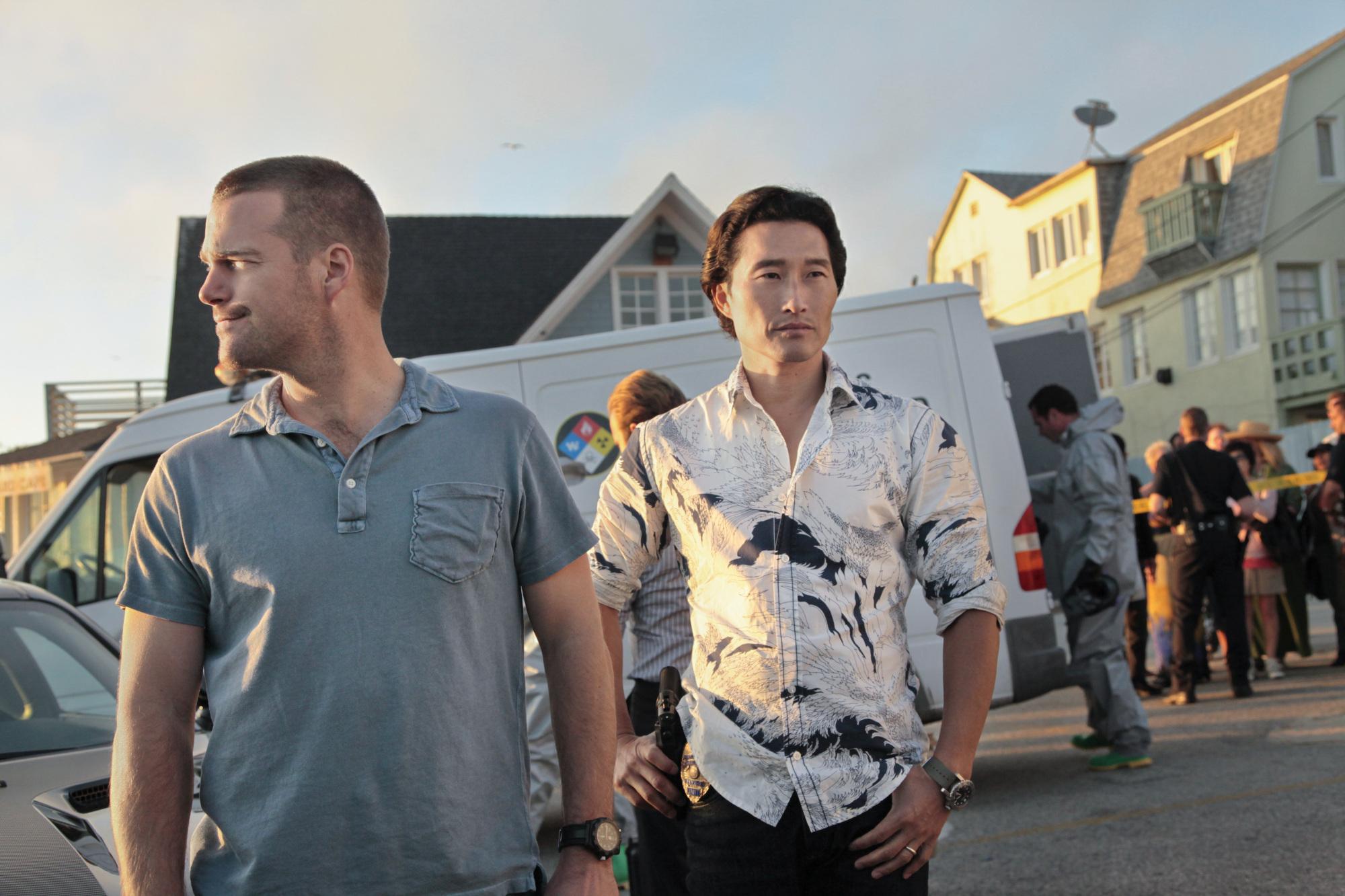 NCIS Special Agent G. Callen & Hawaii Five-0 Detective Lieutenant Chin Ho Kelly