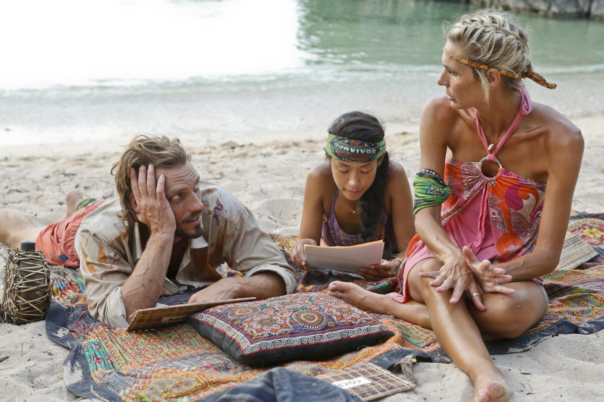 Reynold, Brenda and Sherri in