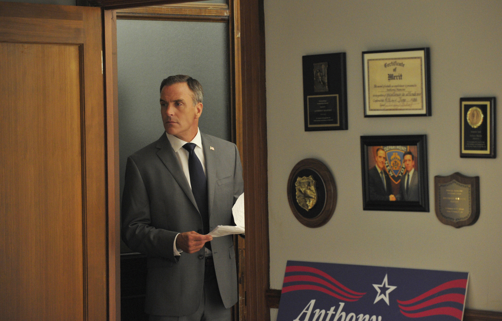 Councilman Mancini in the Office