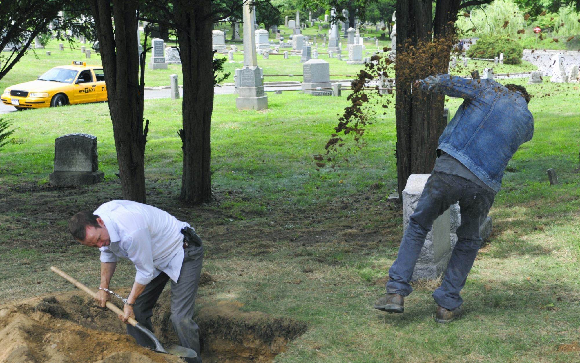 Danny in the Graveyard