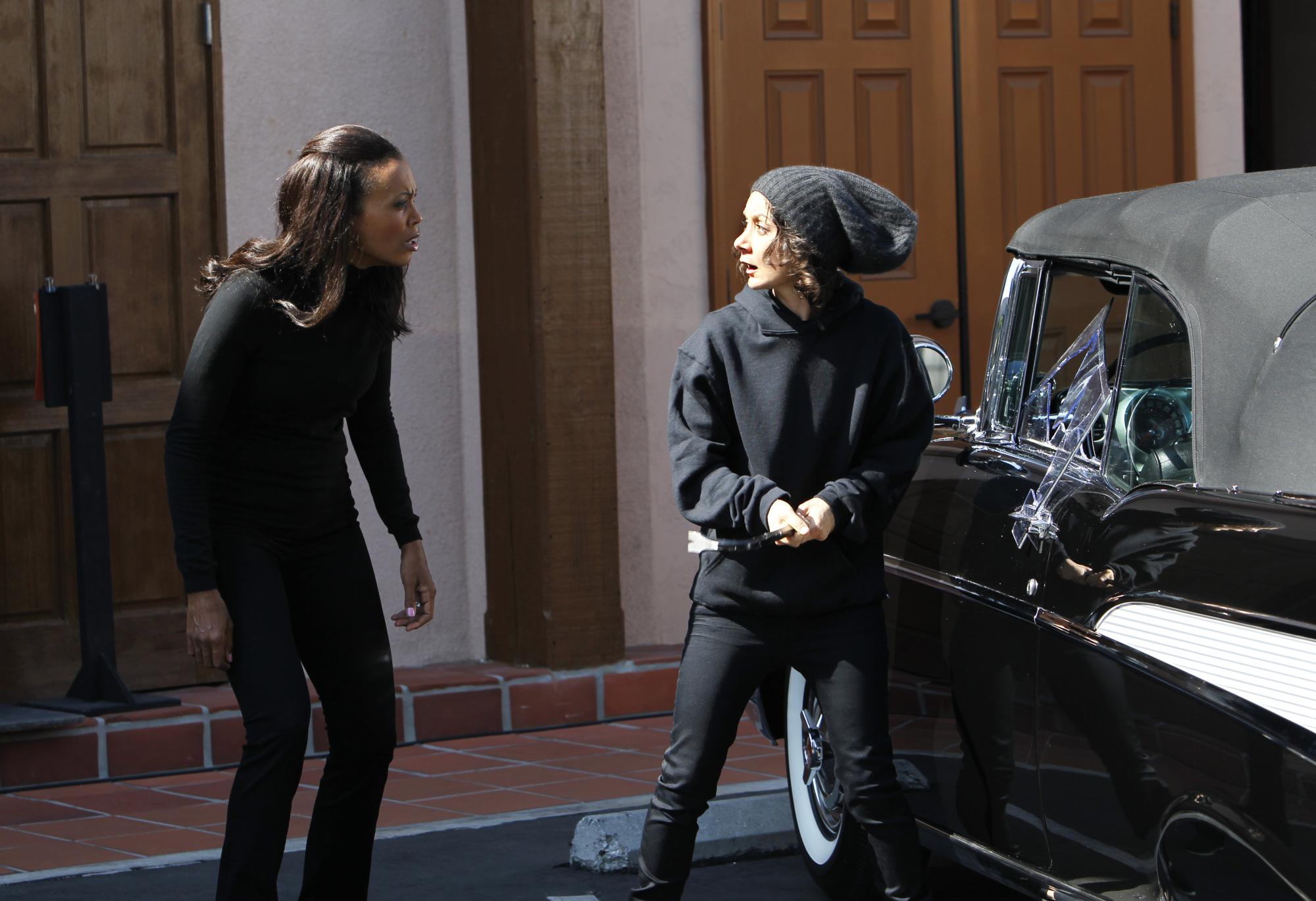 Car Theft Reenactment