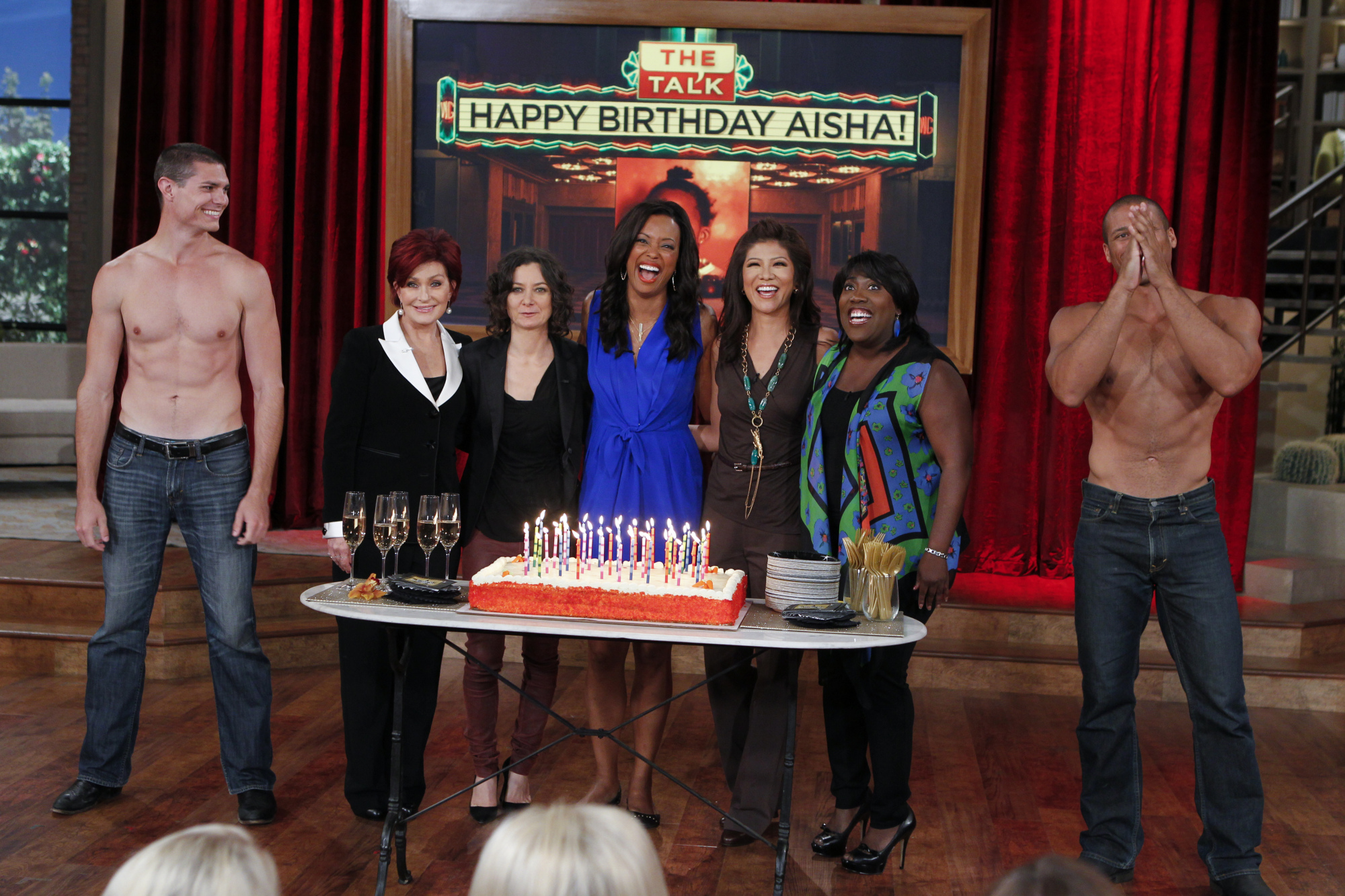 Happy Birthday on The Talk
