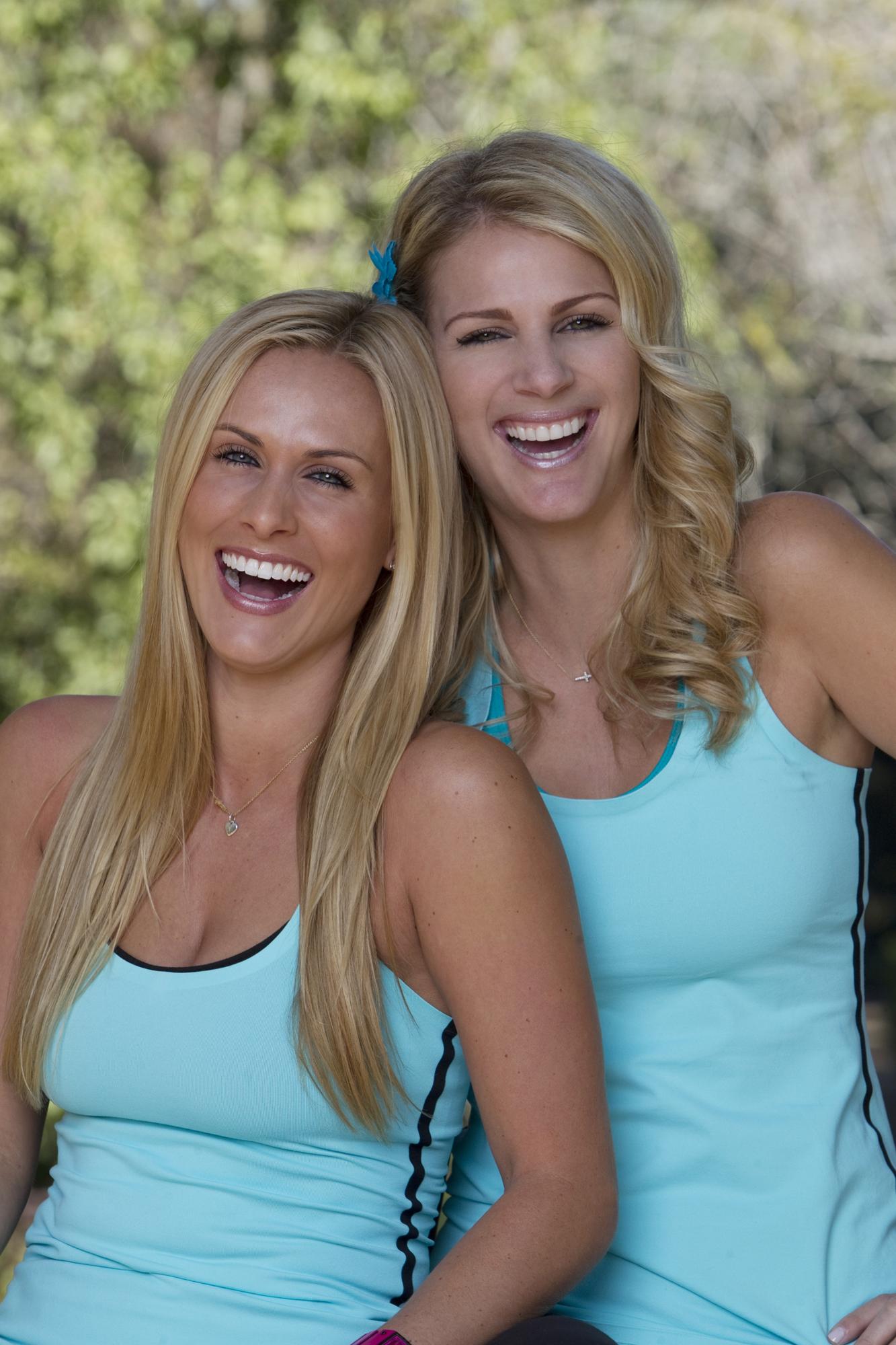 Caroline and Jennifer