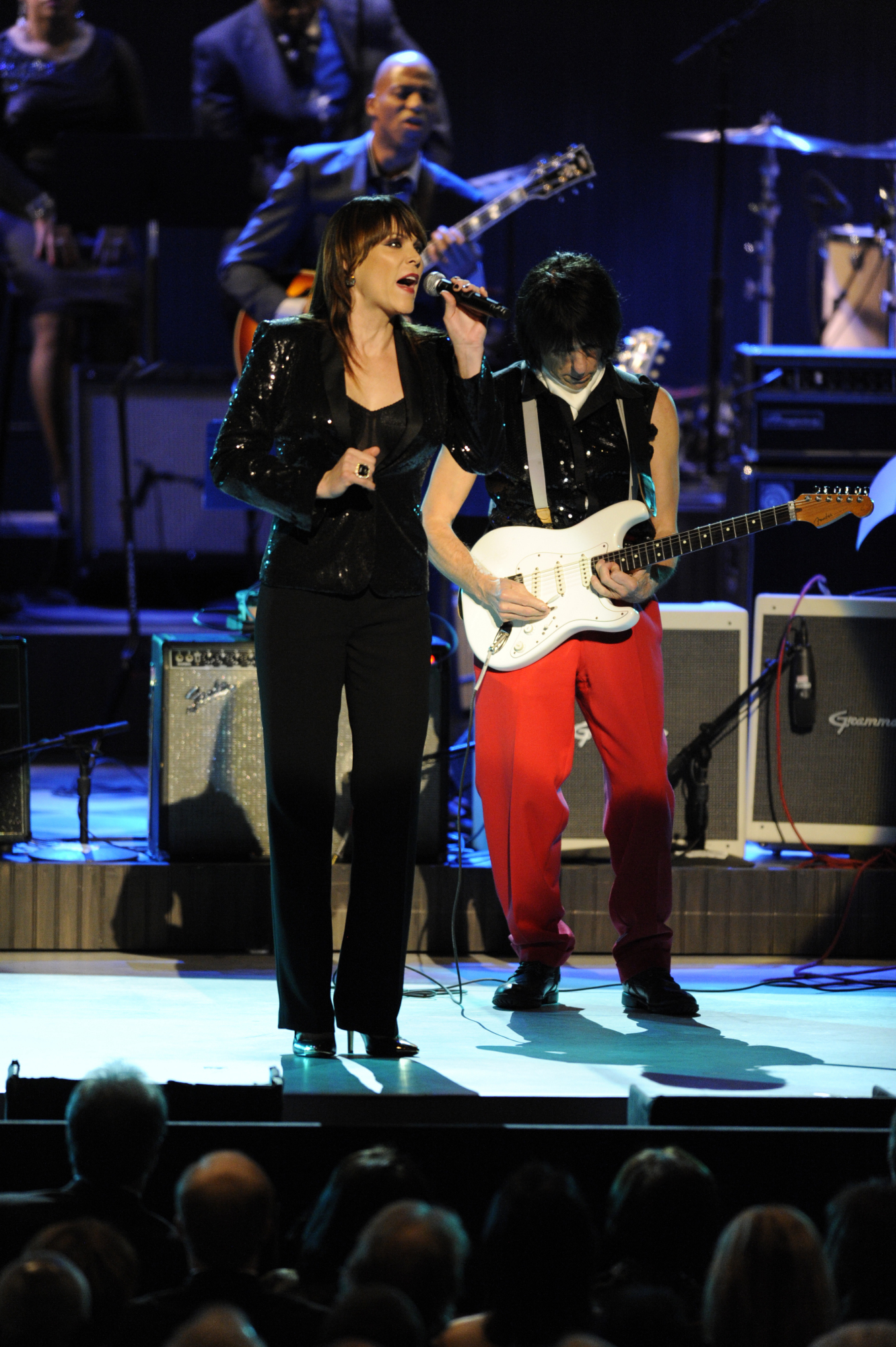 Beth Hart and Jeff Beck Perform