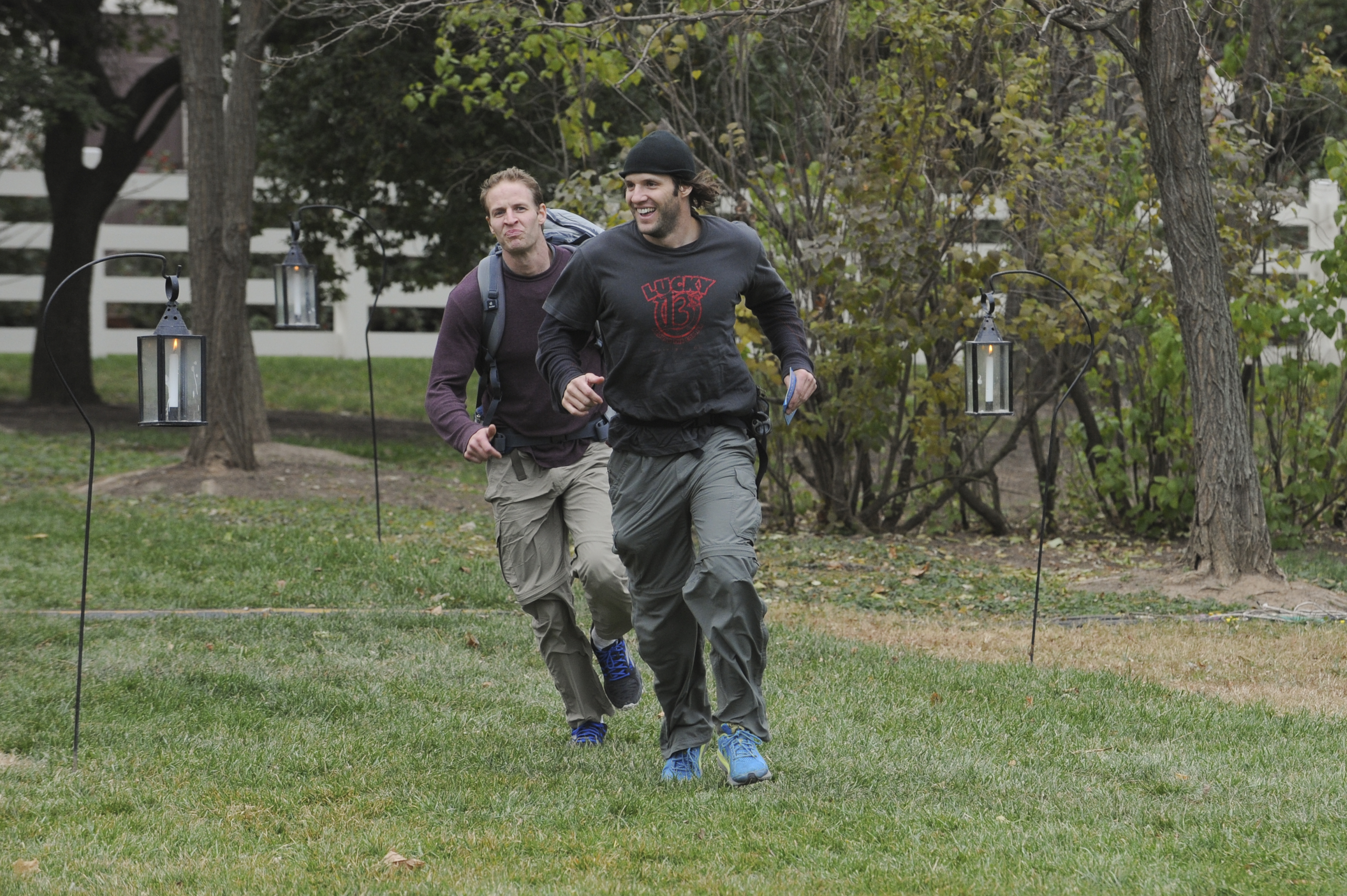 Running to the mat in the season finale of The Amazing Race