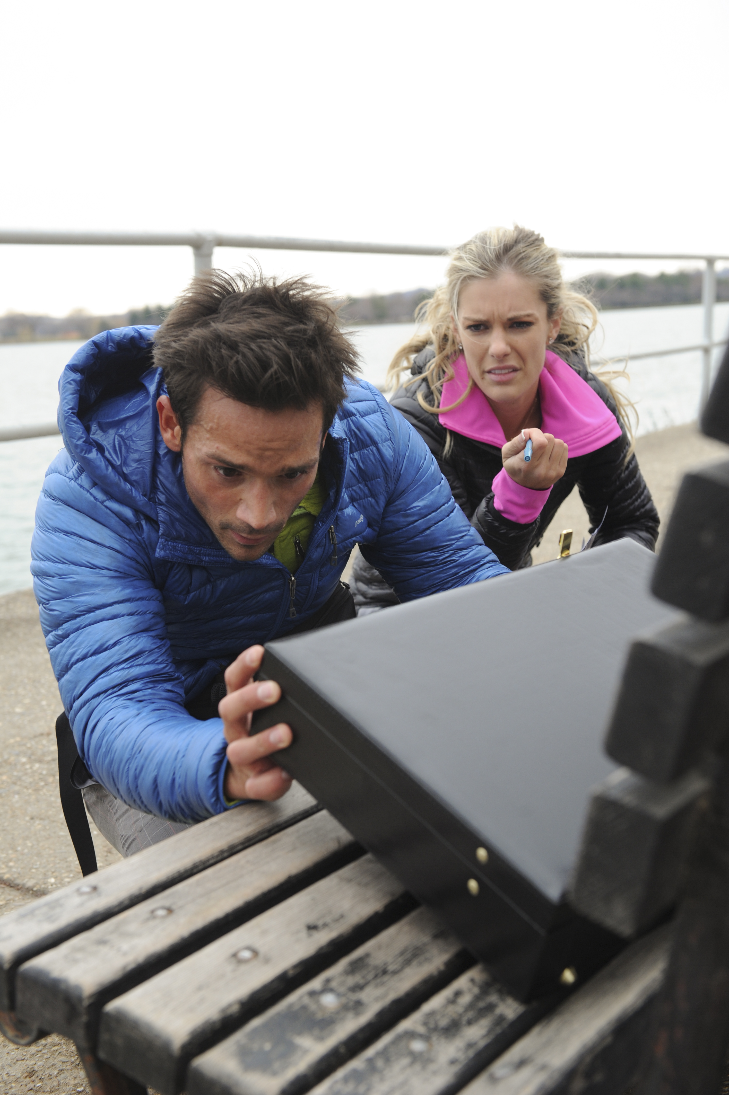 Max and Katie in the season finale of The Amazing Race