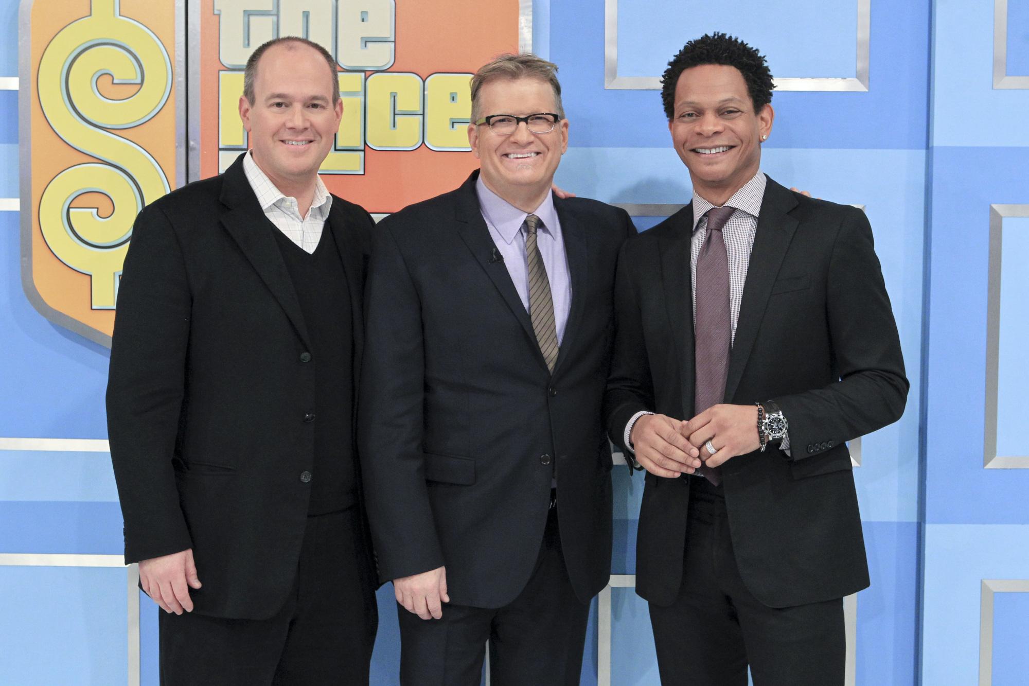 Rich Eisen & Eric Davis Visit The Price Is Right