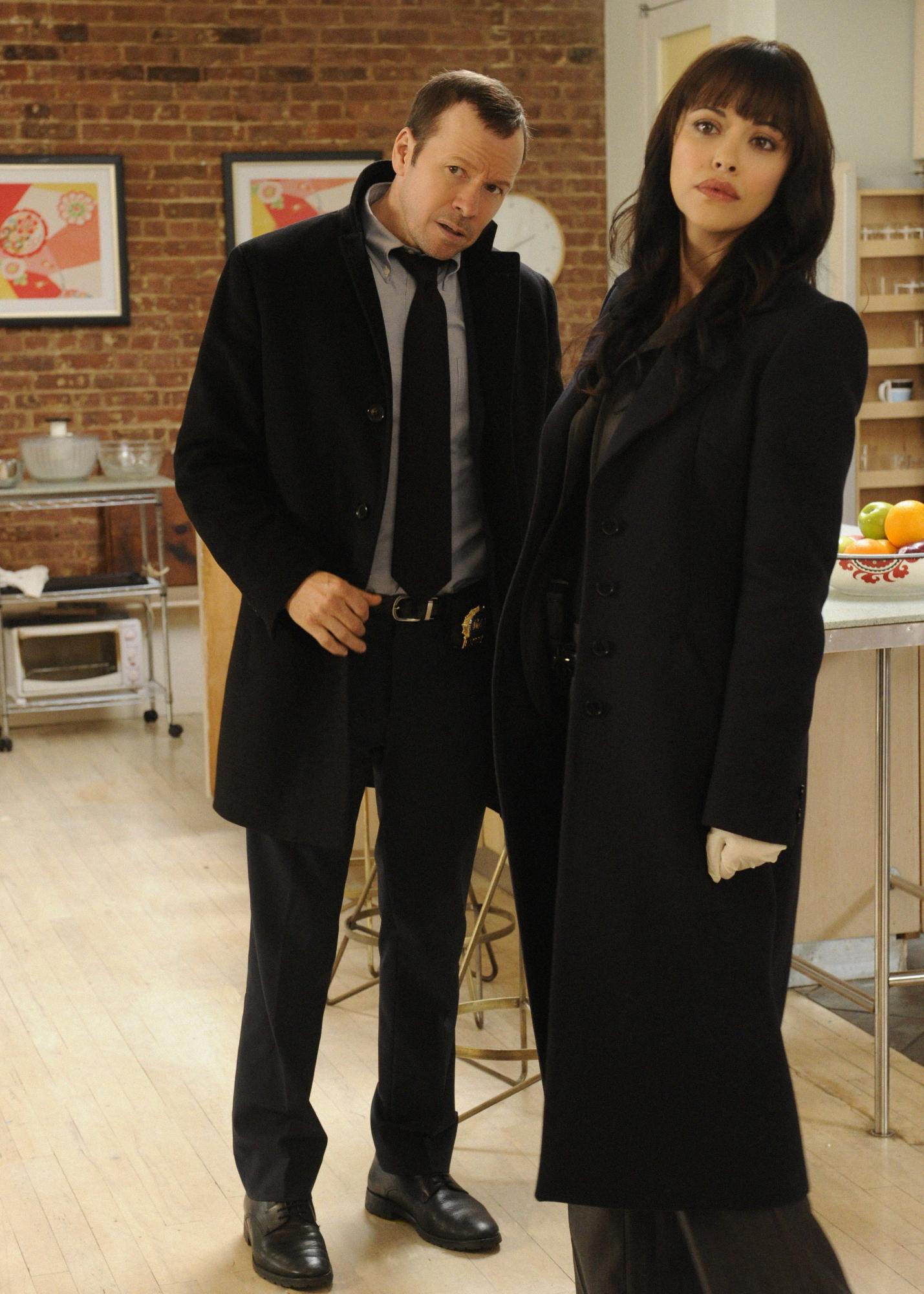Danny and Det. Maria Baez