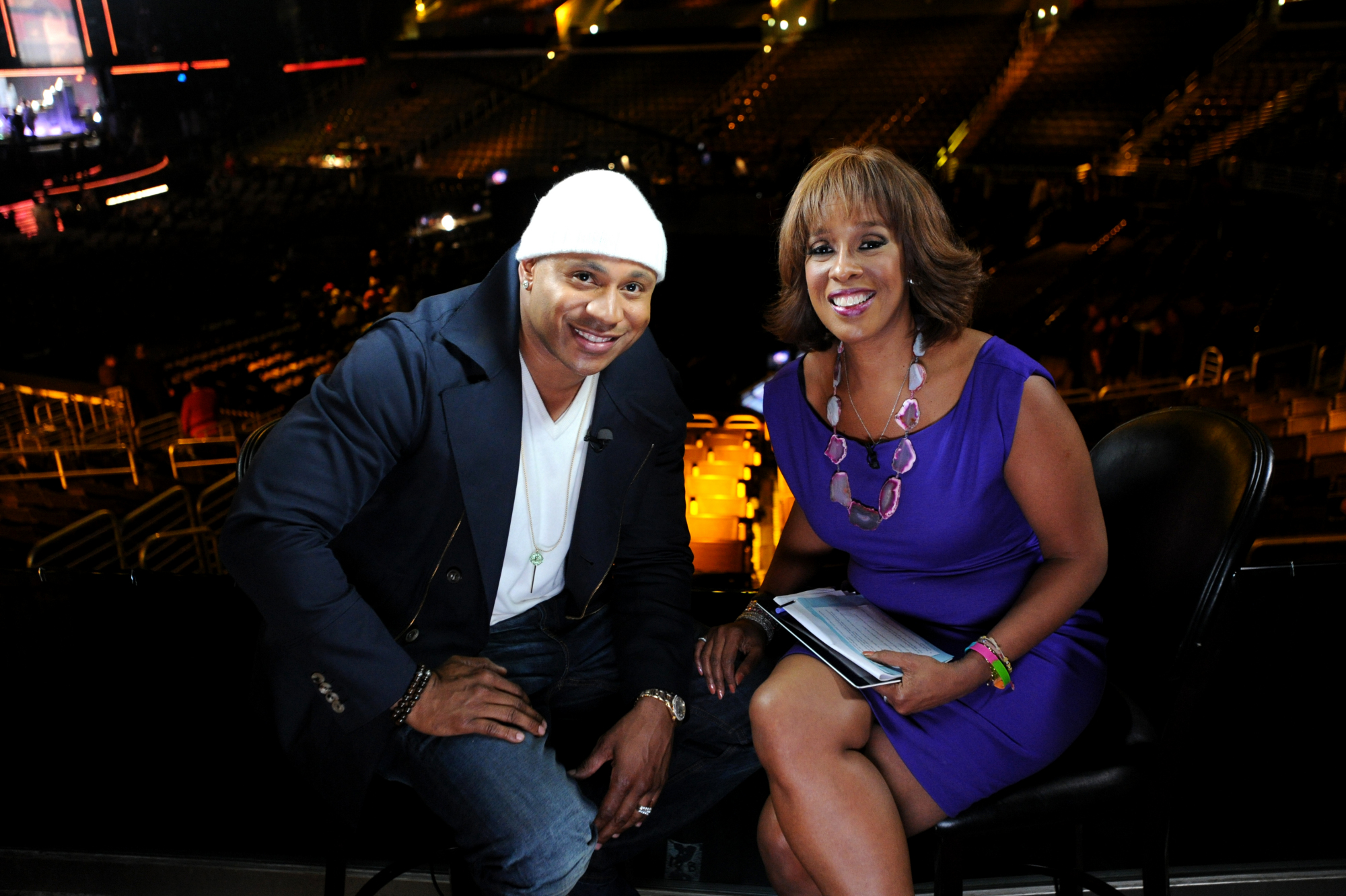 LL Cool J and Gayle King