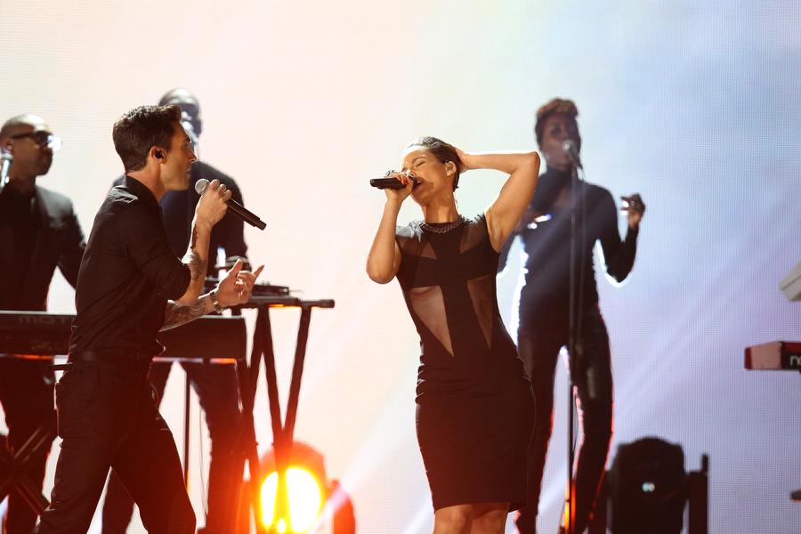 Alicia Keys and Maroon 5