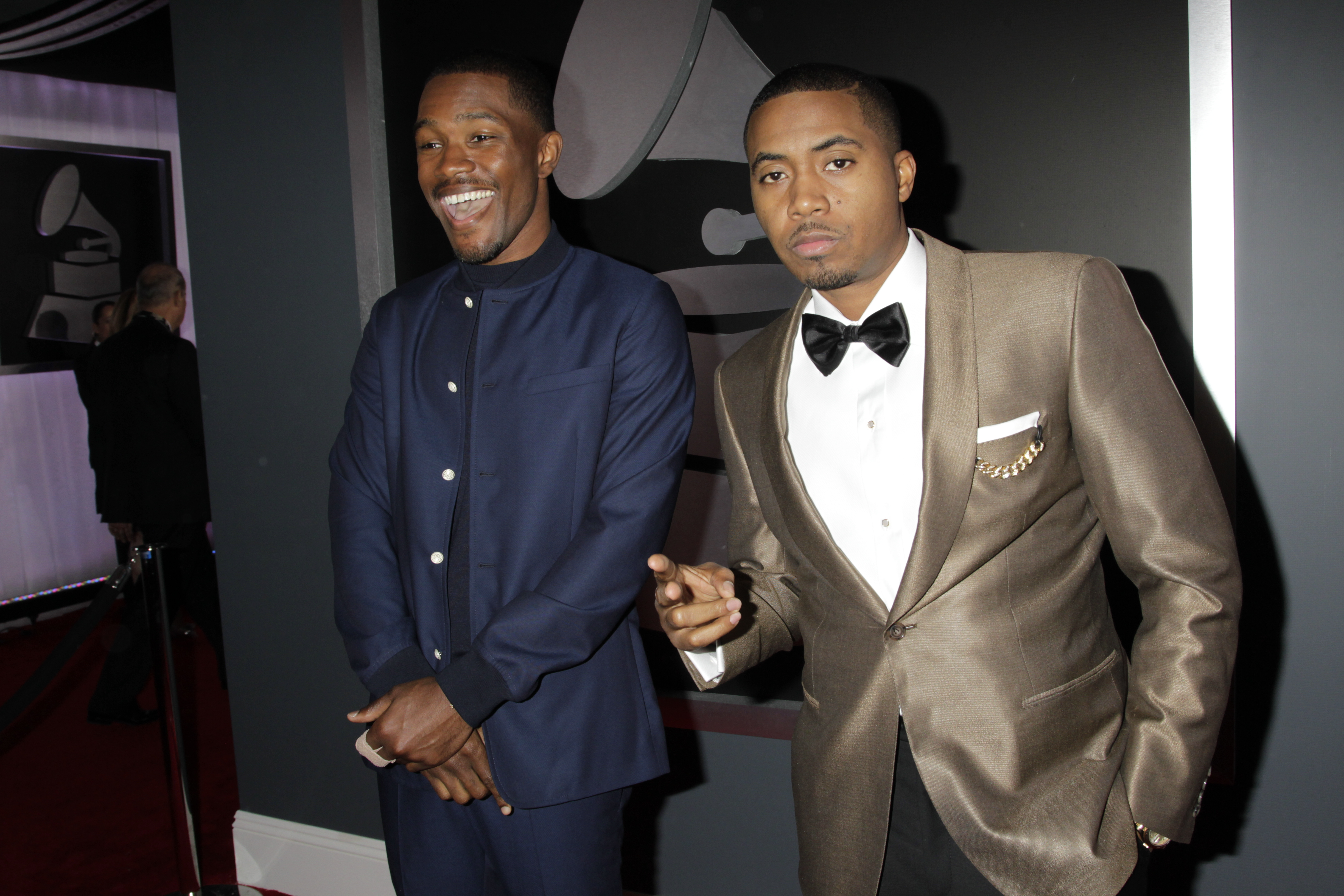 Frank Ocean and Nas