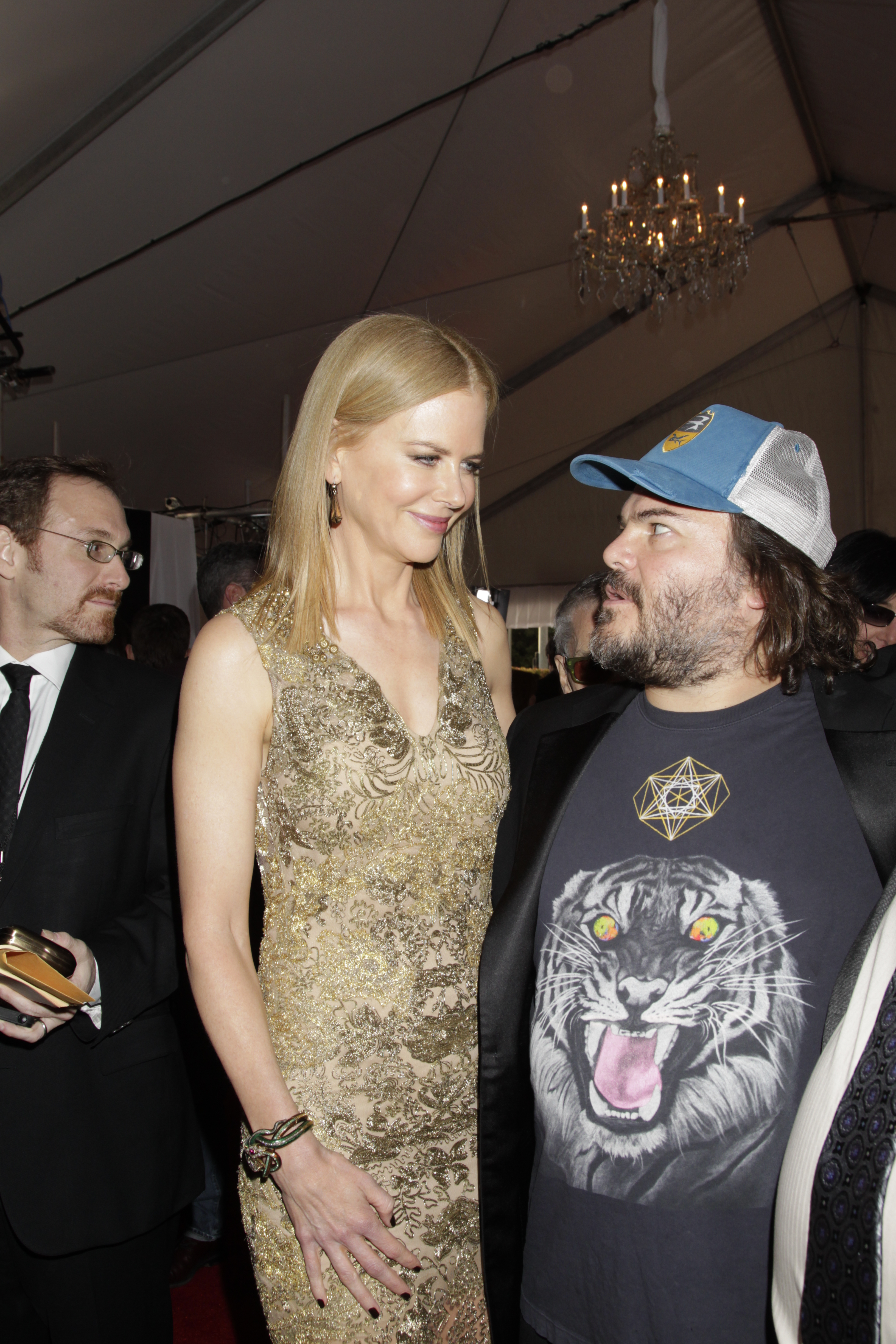 Nicole Kidman and Jack Black