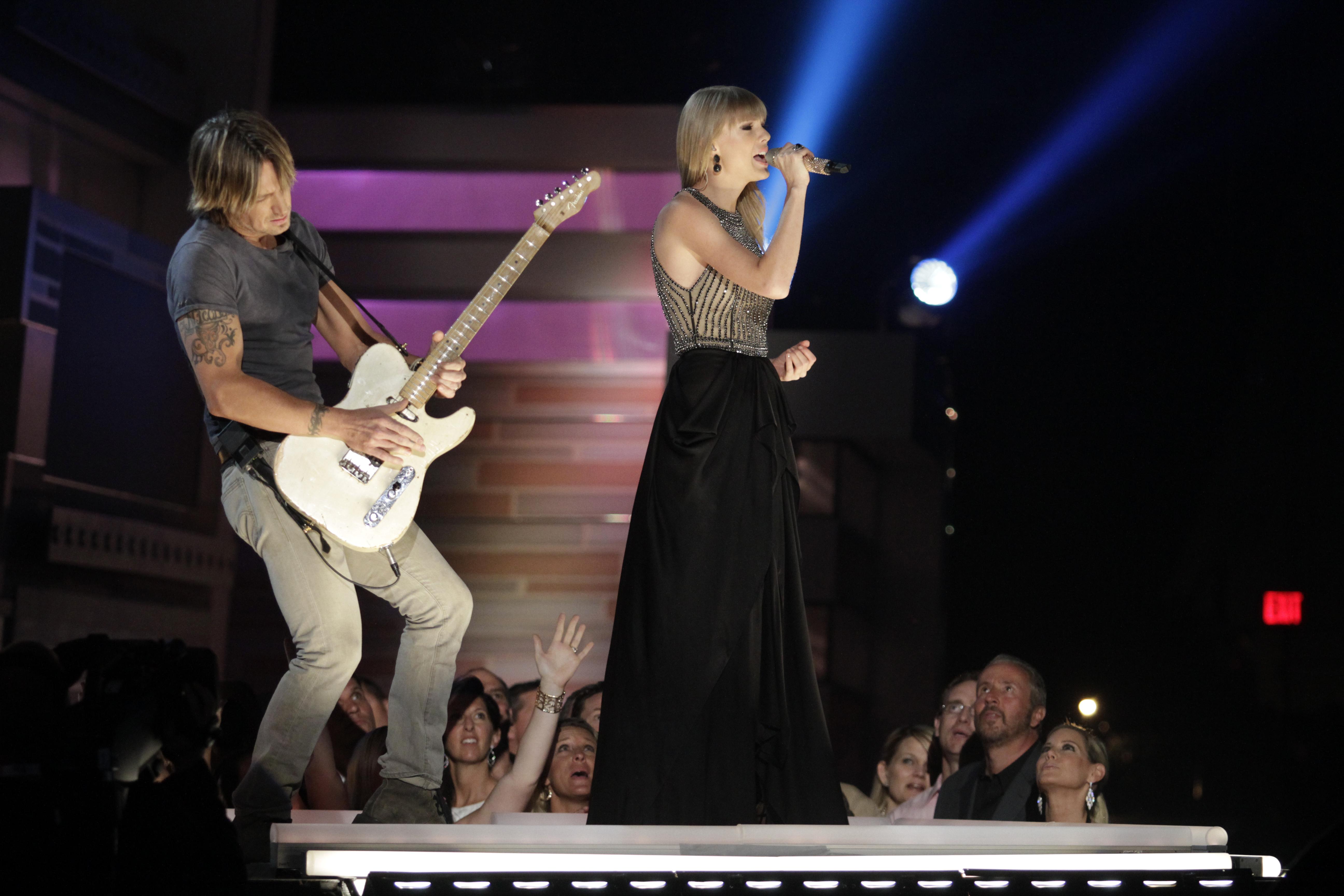 Keith Urban & Taylor Swift