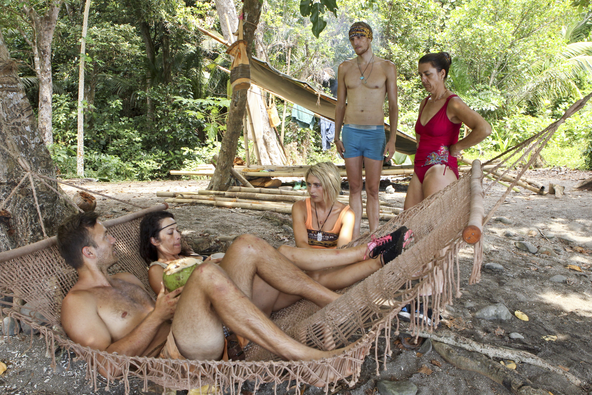 Hanging at Camp