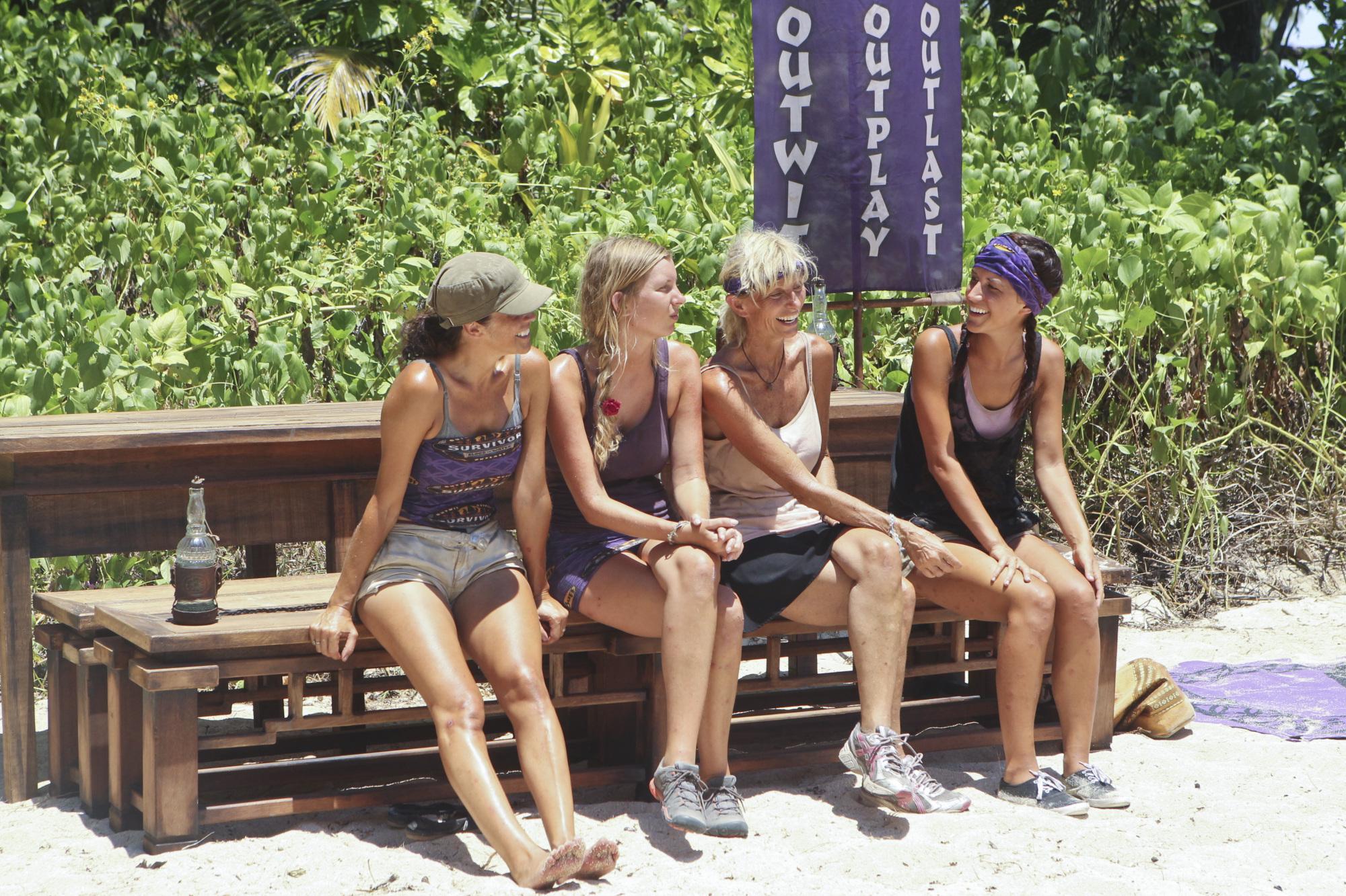 Laura, Katie, Tina and Ciera