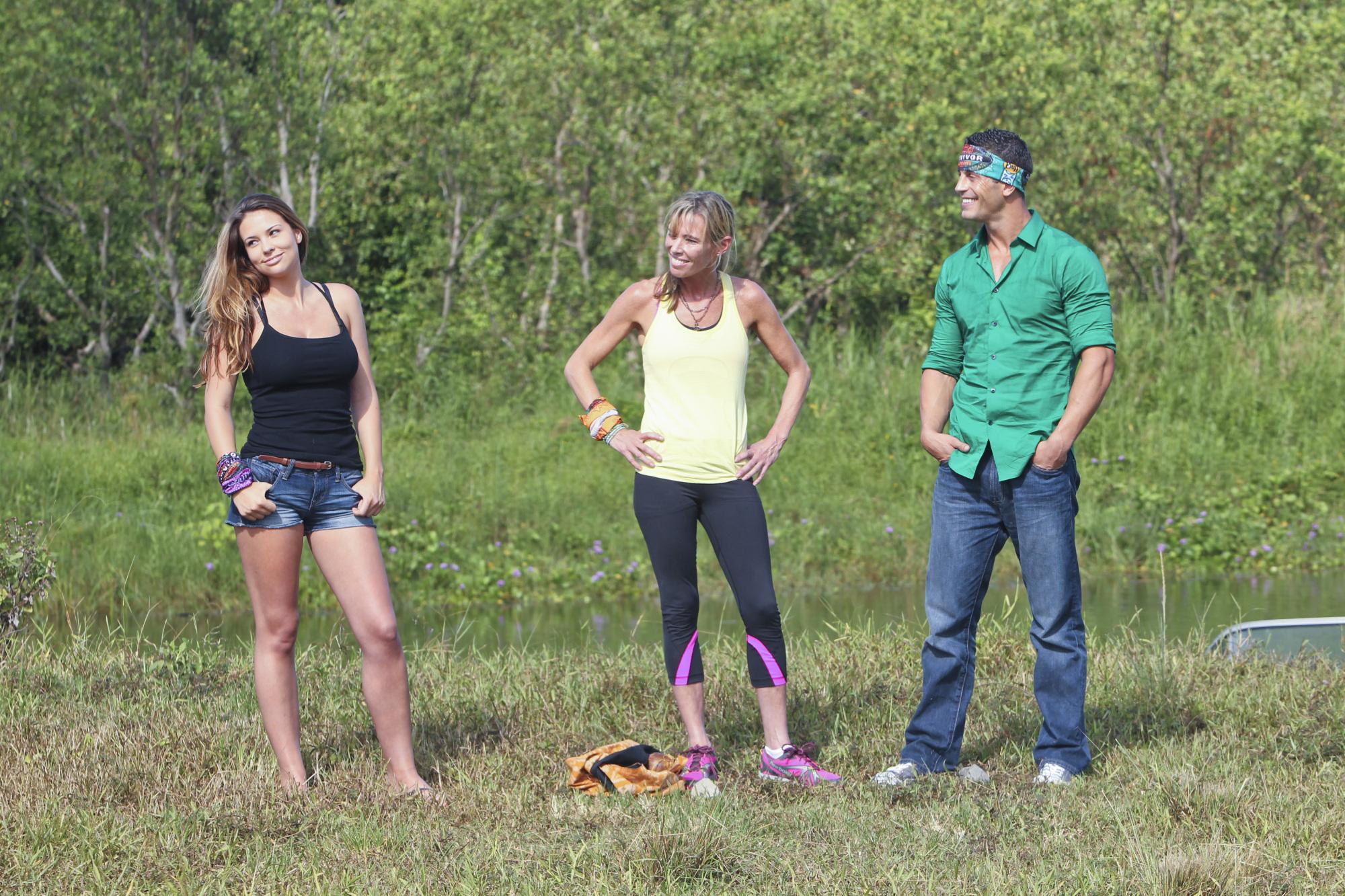 Alexis, Trish and Garrett