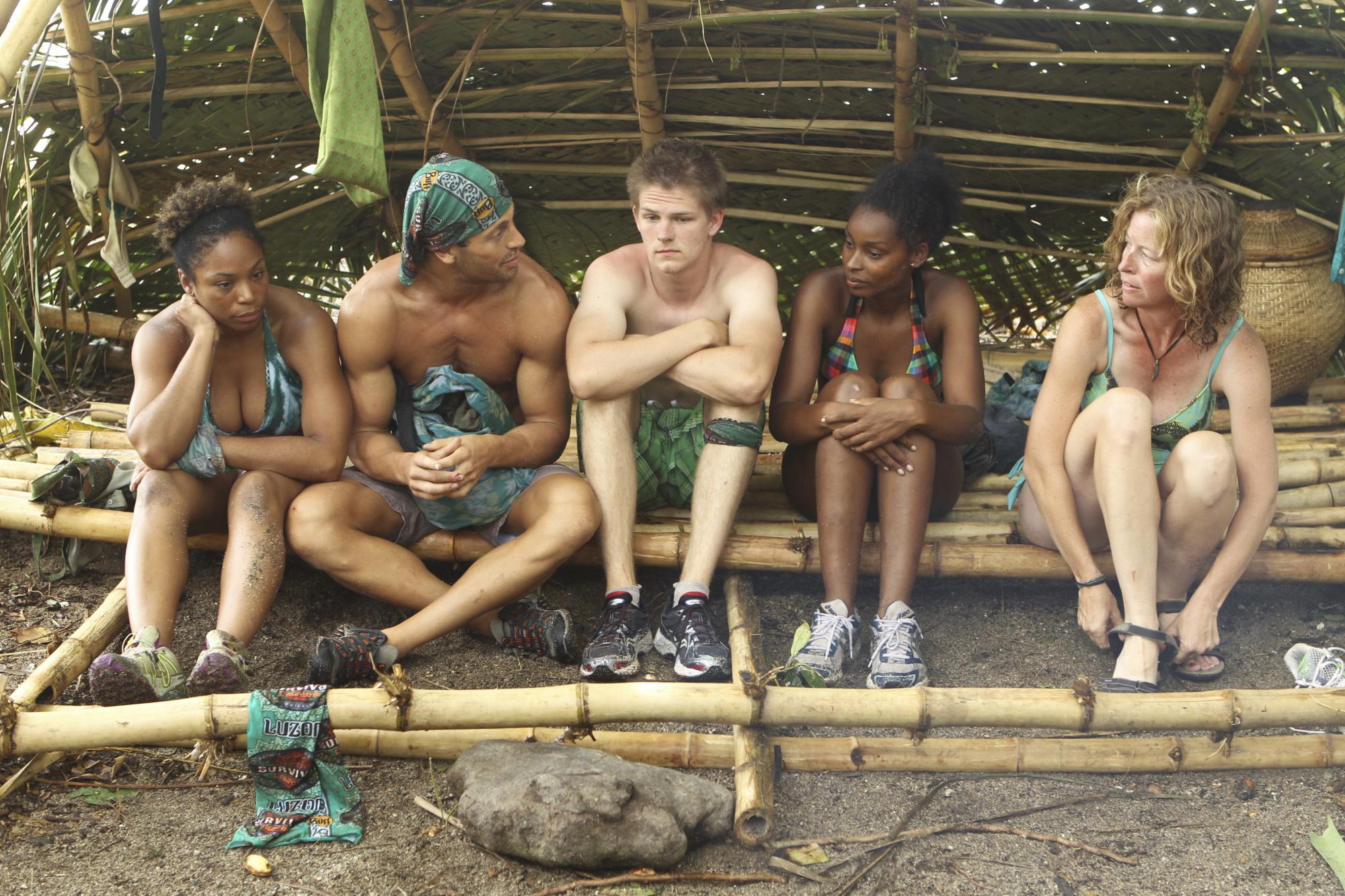 Brains tribe in the Season 28 premiere