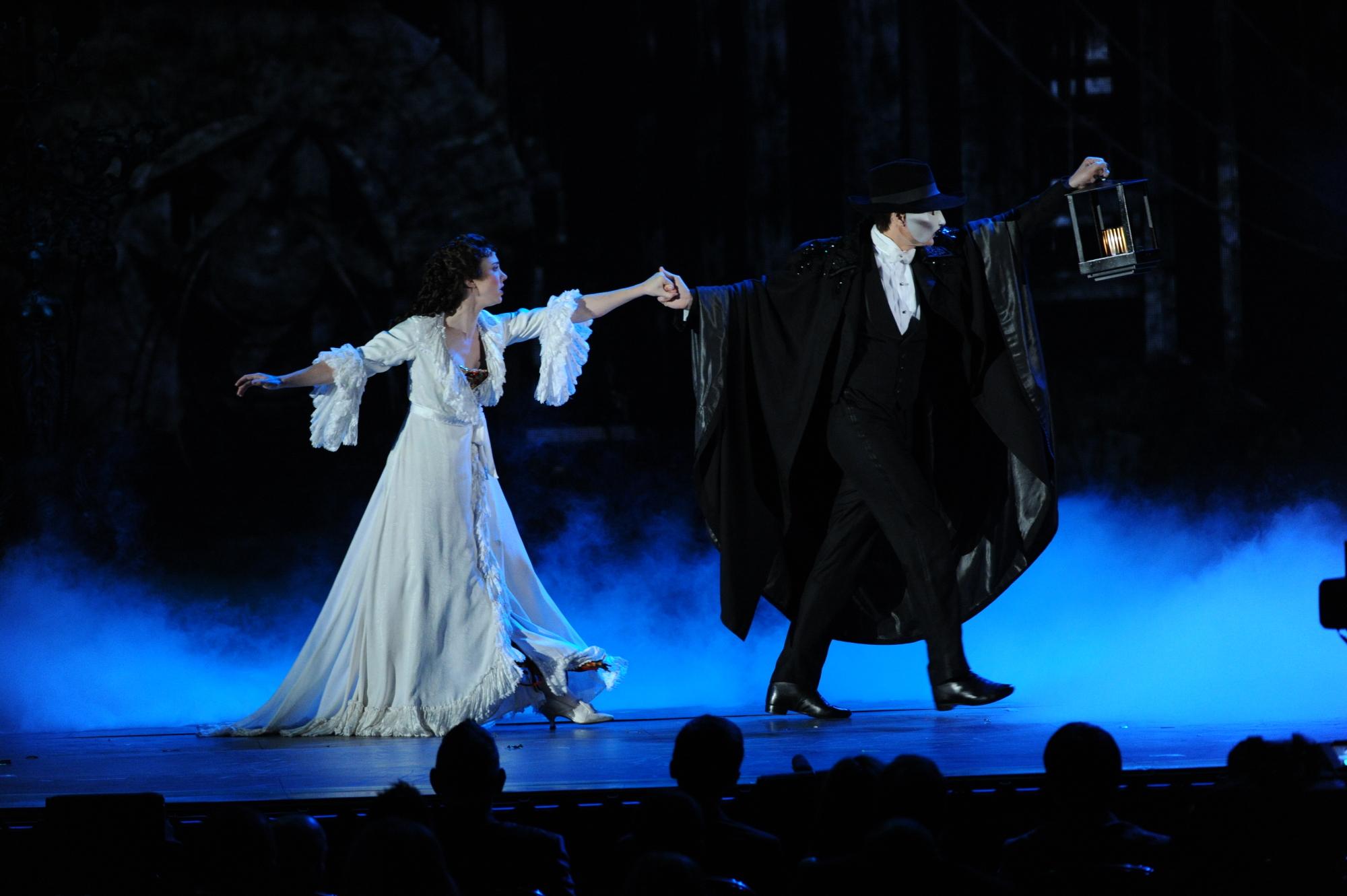 The cast of Phantom of the Opera