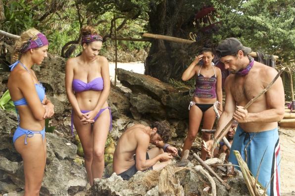 Jefra, Morgan, and Alexis - Survivor: Cagayan