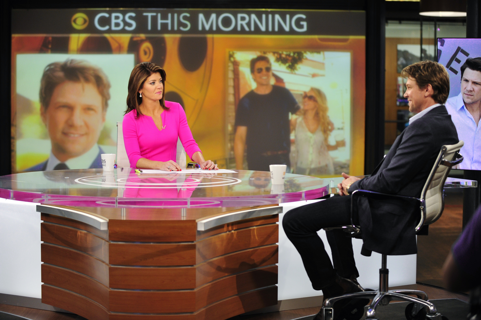 CBS This Morning Set