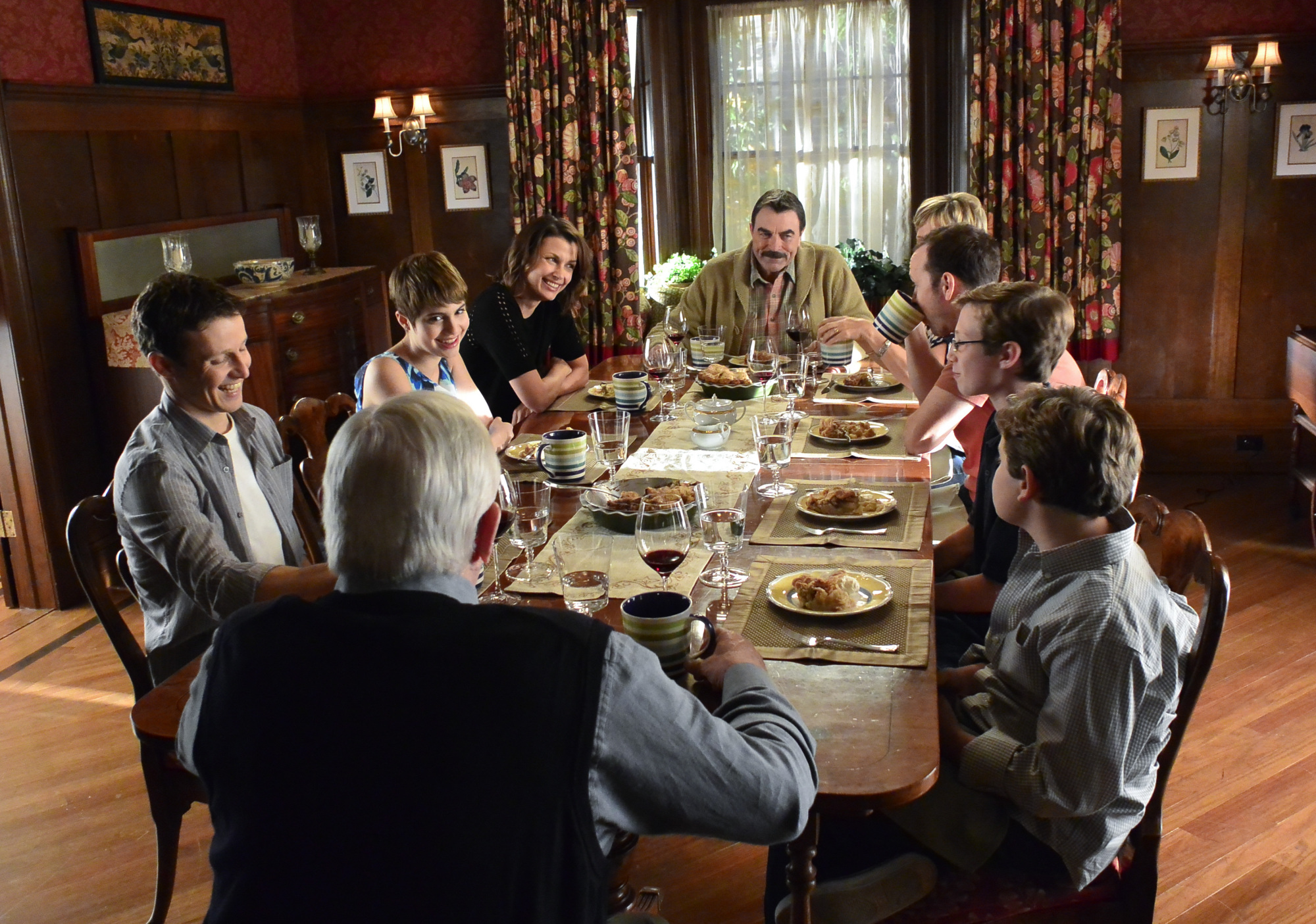 There's nothing more heartwarming than all the smiles around the Reagan family dinners.