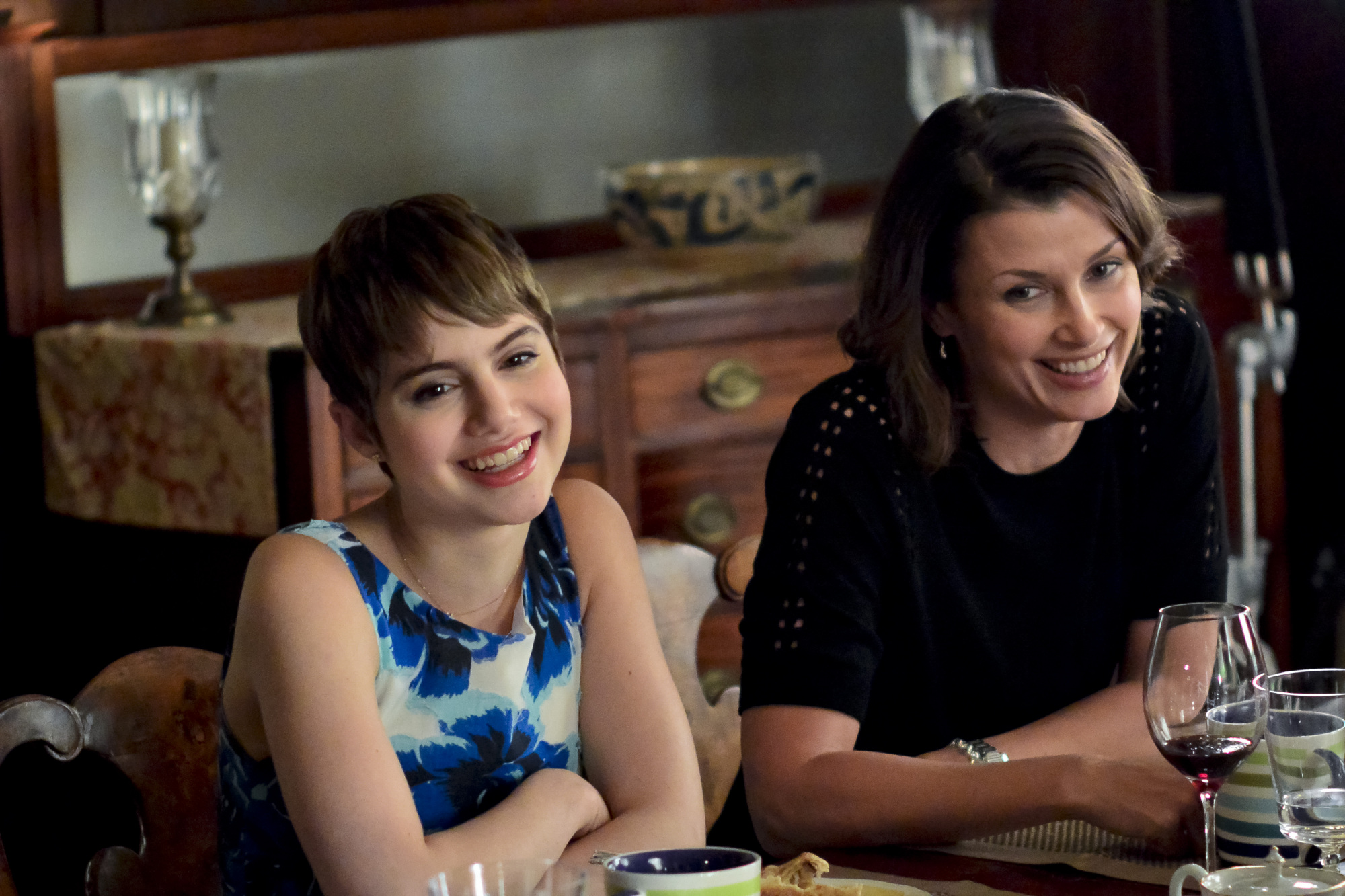 Nicky and Erin have beautiful smiles, and an even more beautiful mother-daughter relationship.