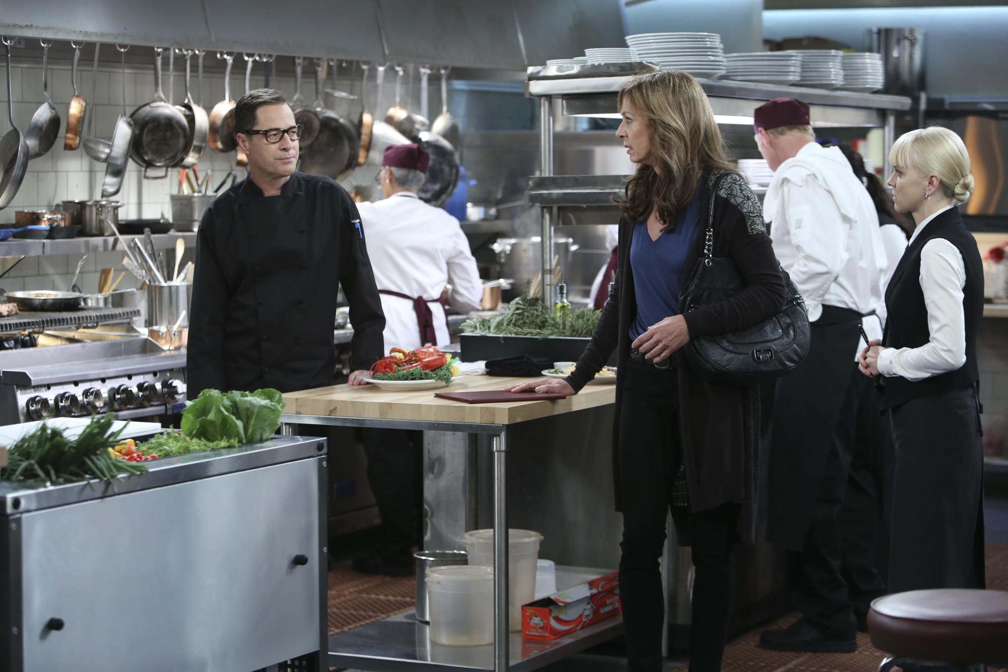 Bonnie's in the kitchen in