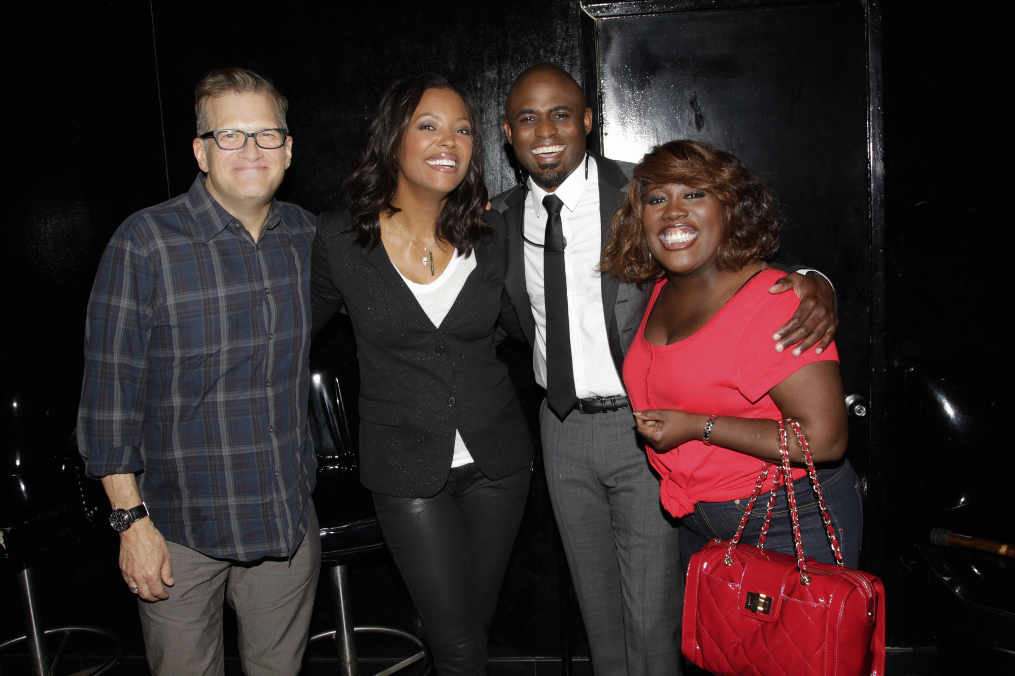 Drew, Aisha, Wayne, and Sheryl