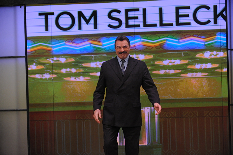Tom Selleck stops by THE TALK