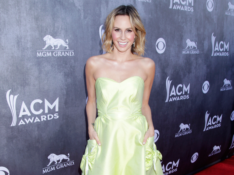 Keltie Knight on the Red Carpet - 49th ACM Awards